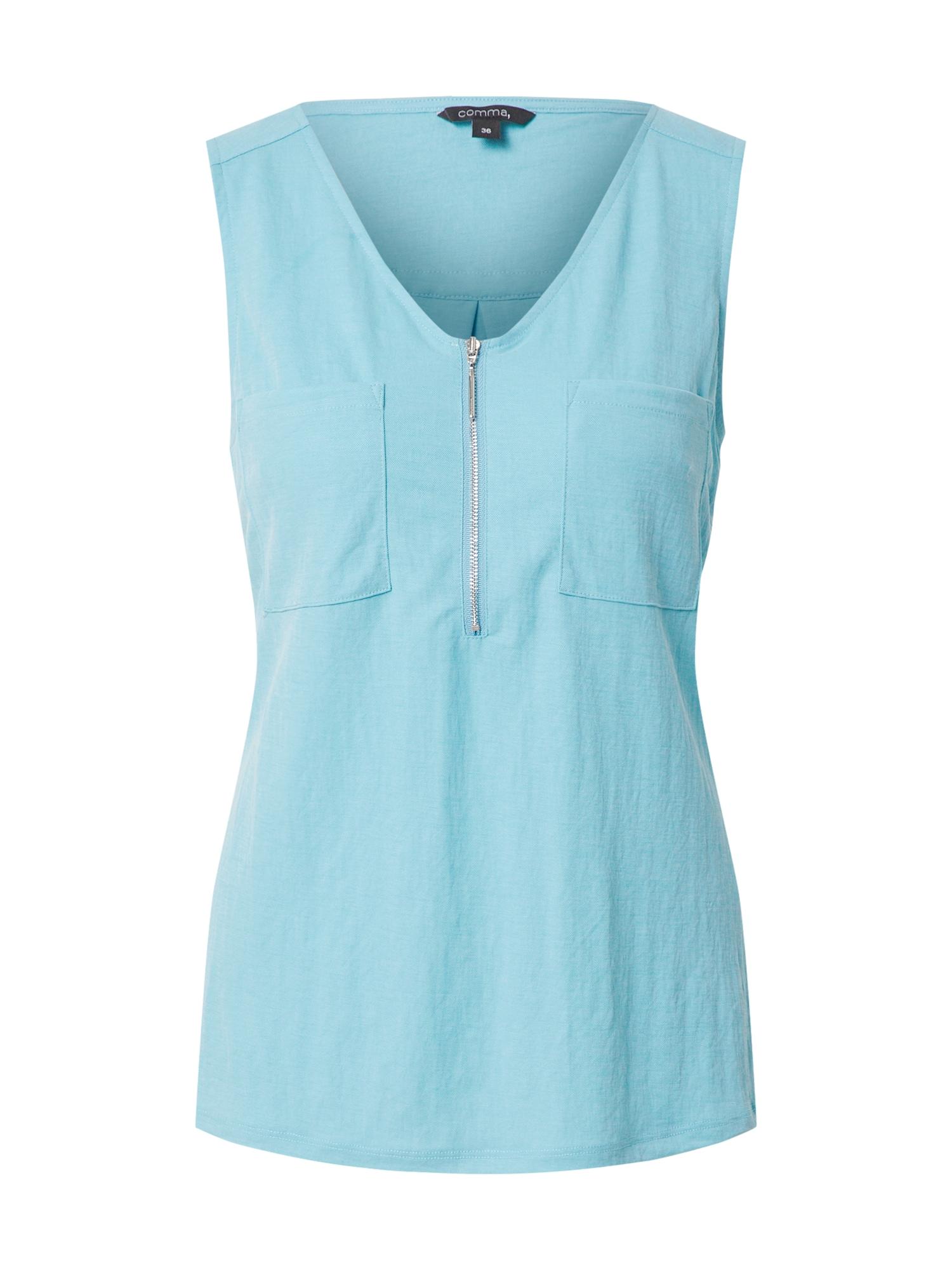 COMMA Marškinėliai šviesiai mėlyna