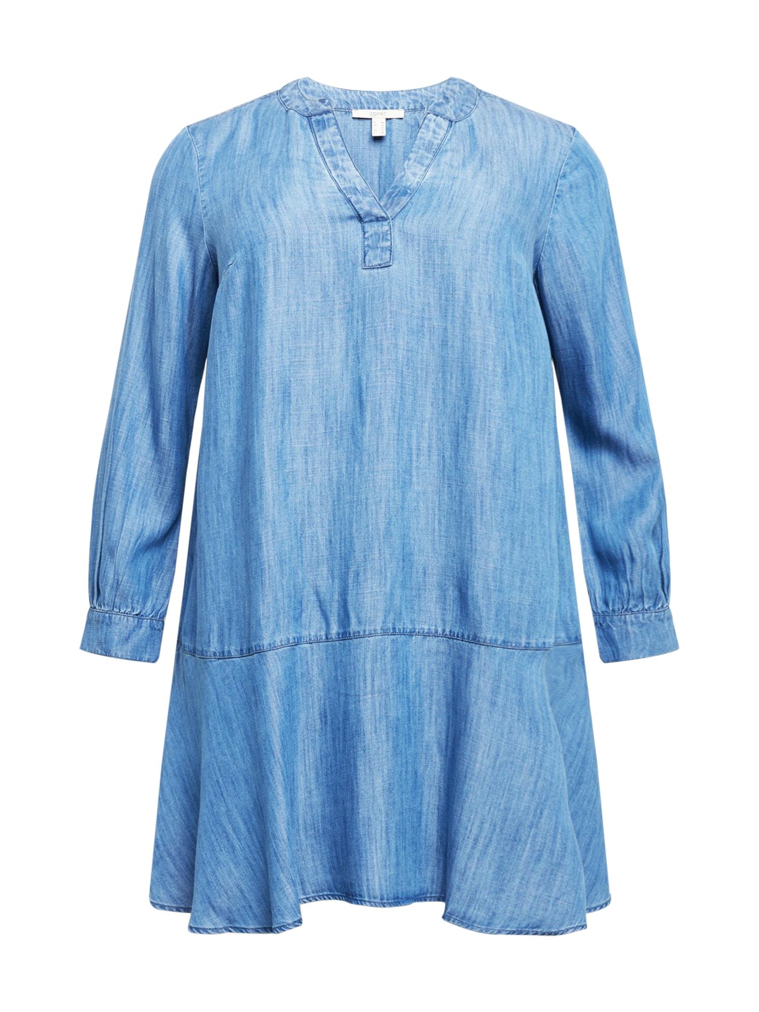 Esprit Curves Palaidinės tipo suknelė tamsiai (džinso) mėlyna