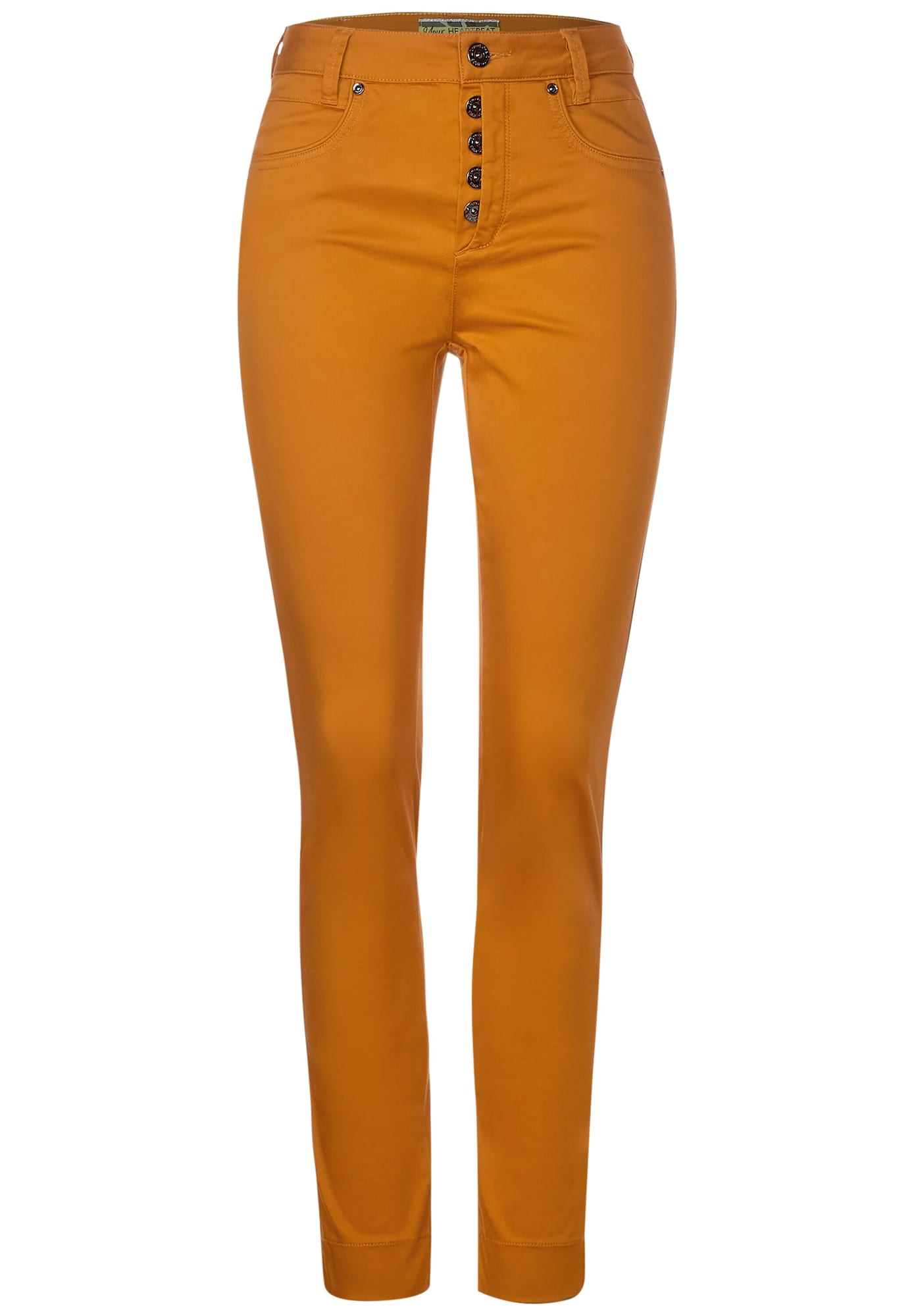 STREET ONE Kelnės oranžinė