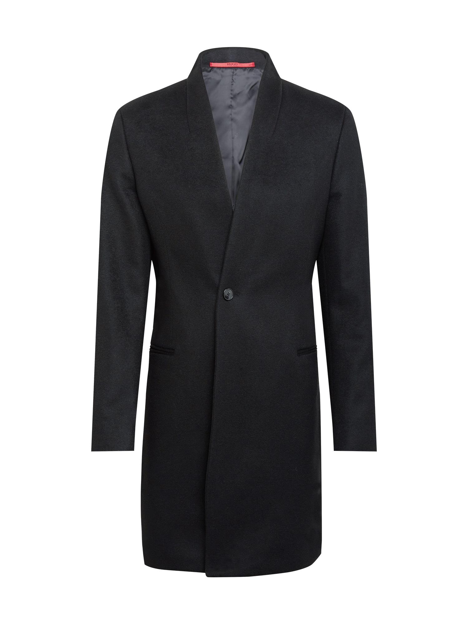 HUGO Demisezoninis paltas 'Utaro' juoda
