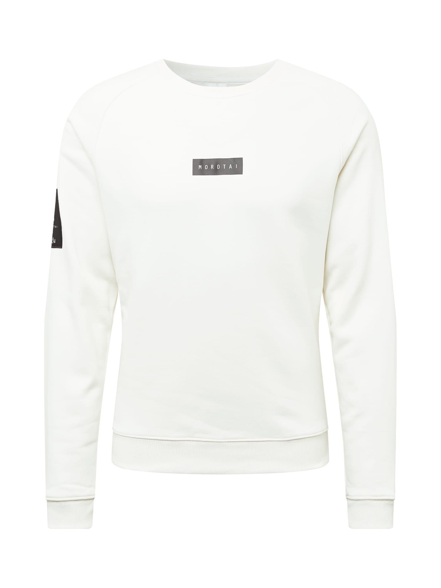 MOROTAI Sportinio tipo megztinis balta