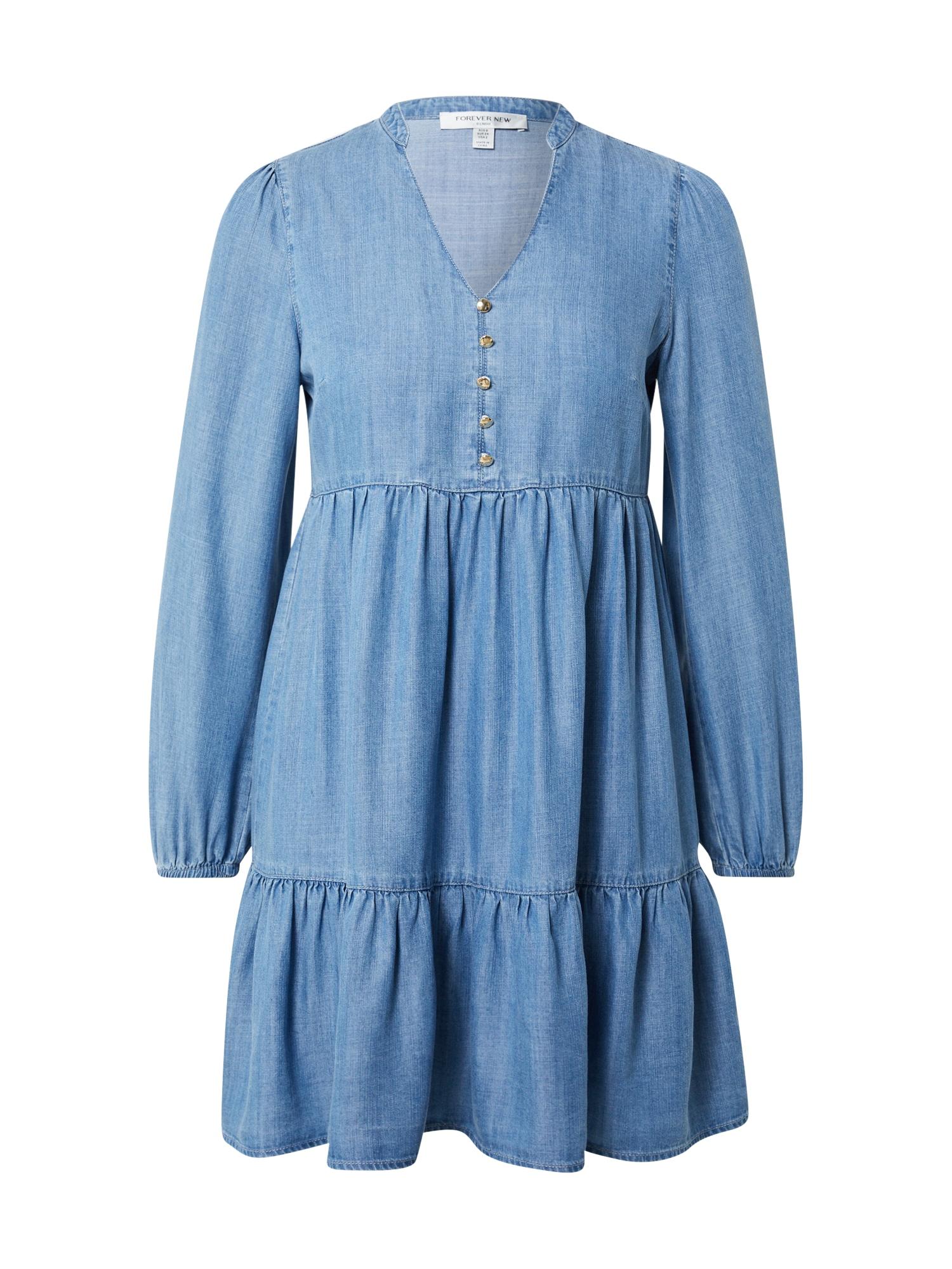 Forever New Palaidinės tipo suknelė tamsiai (džinso) mėlyna
