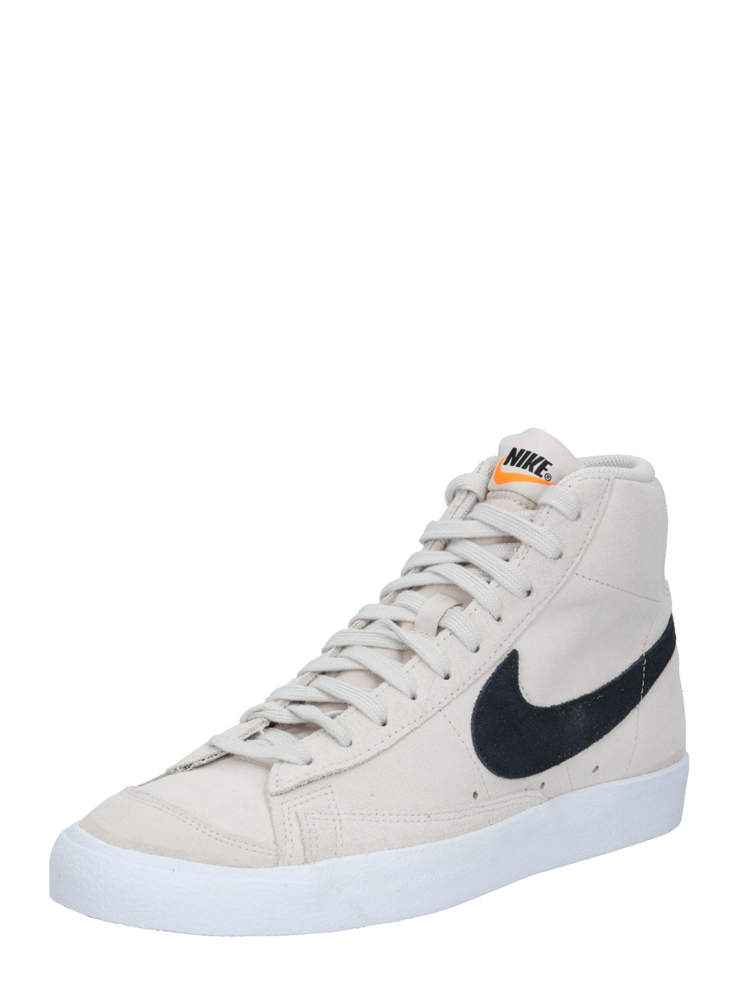 Nike Sportswear Sportbačiai su auliuku '77 Suede' juoda / šviesiai ruda