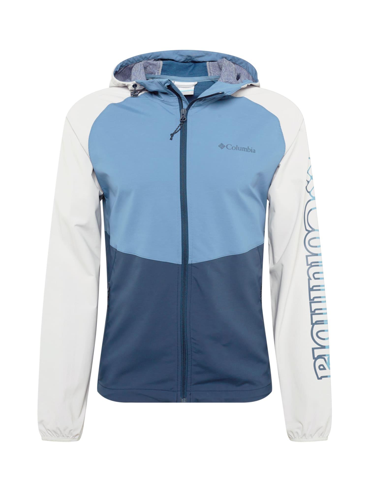 COLUMBIA Outdoorová bunda 'Panther Creek'  námořnická modř / bílá / kouřově modrá