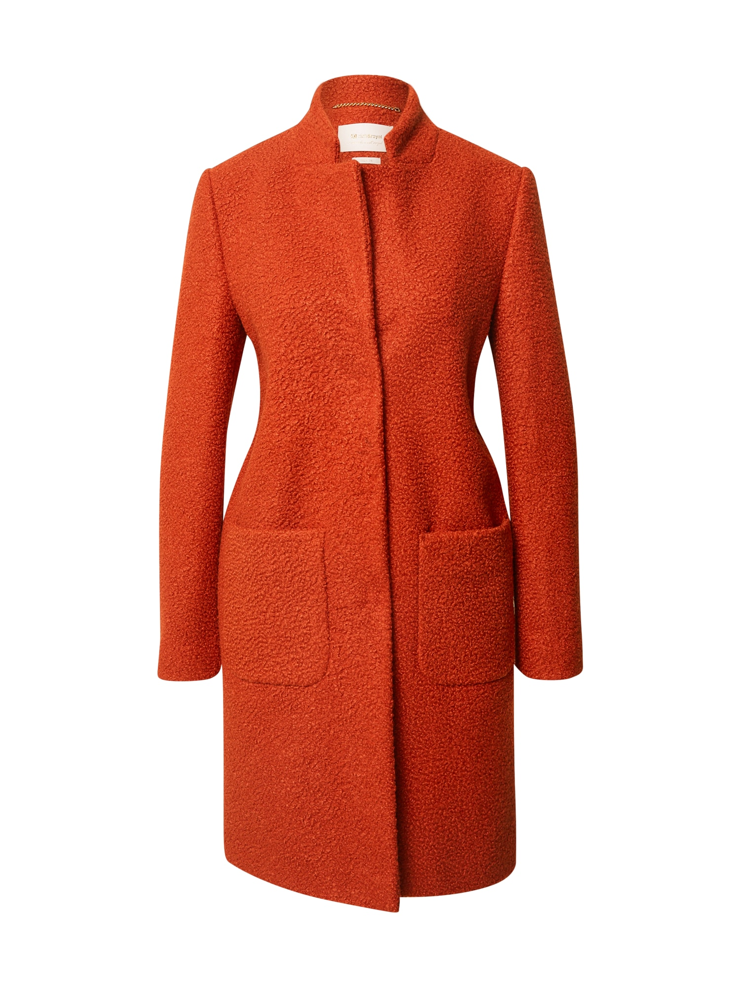 Rich & Royal Demisezoninis paltas oranžinė-raudona