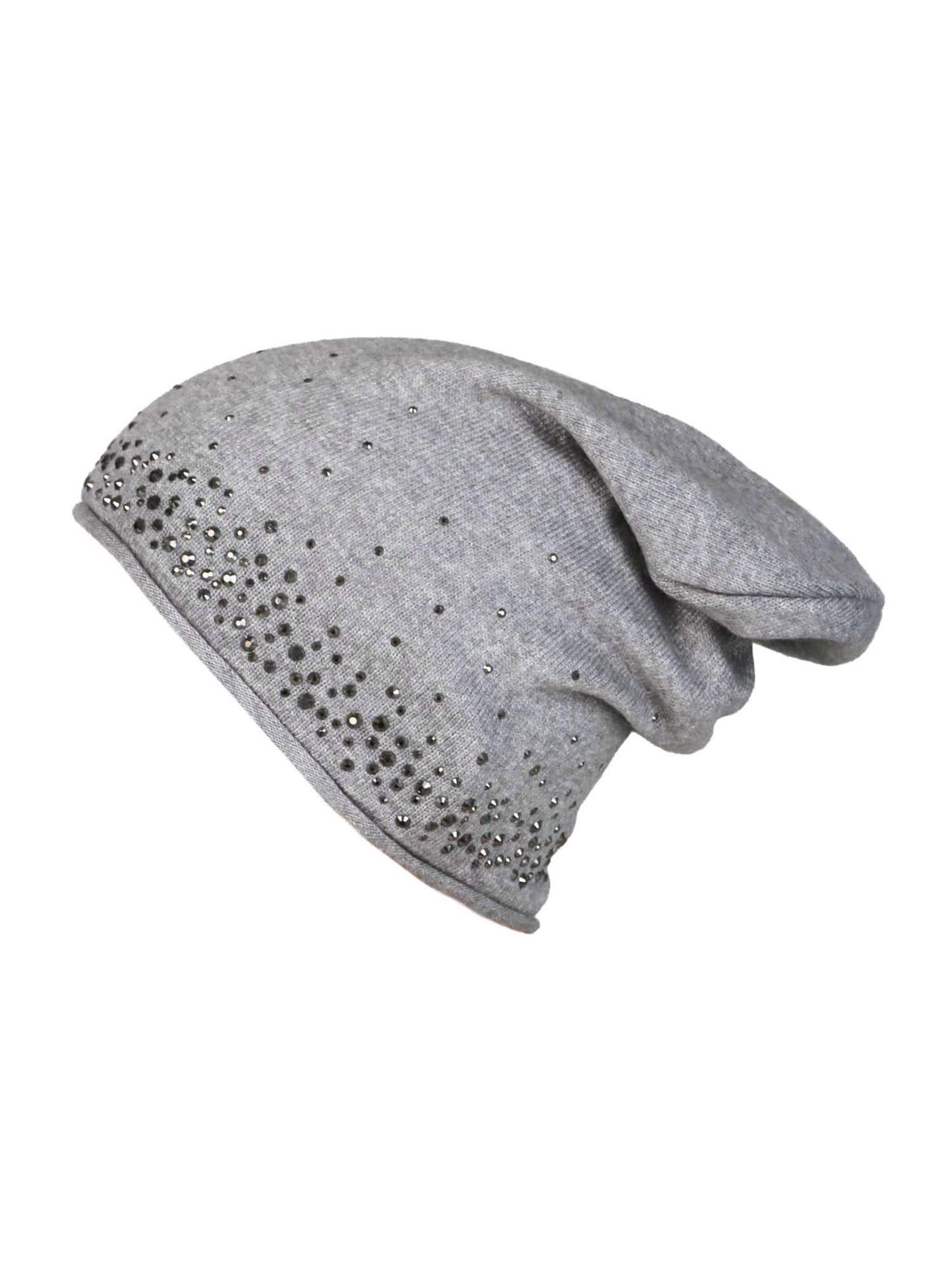 Zwillingsherz Megzta kepurė pilka
