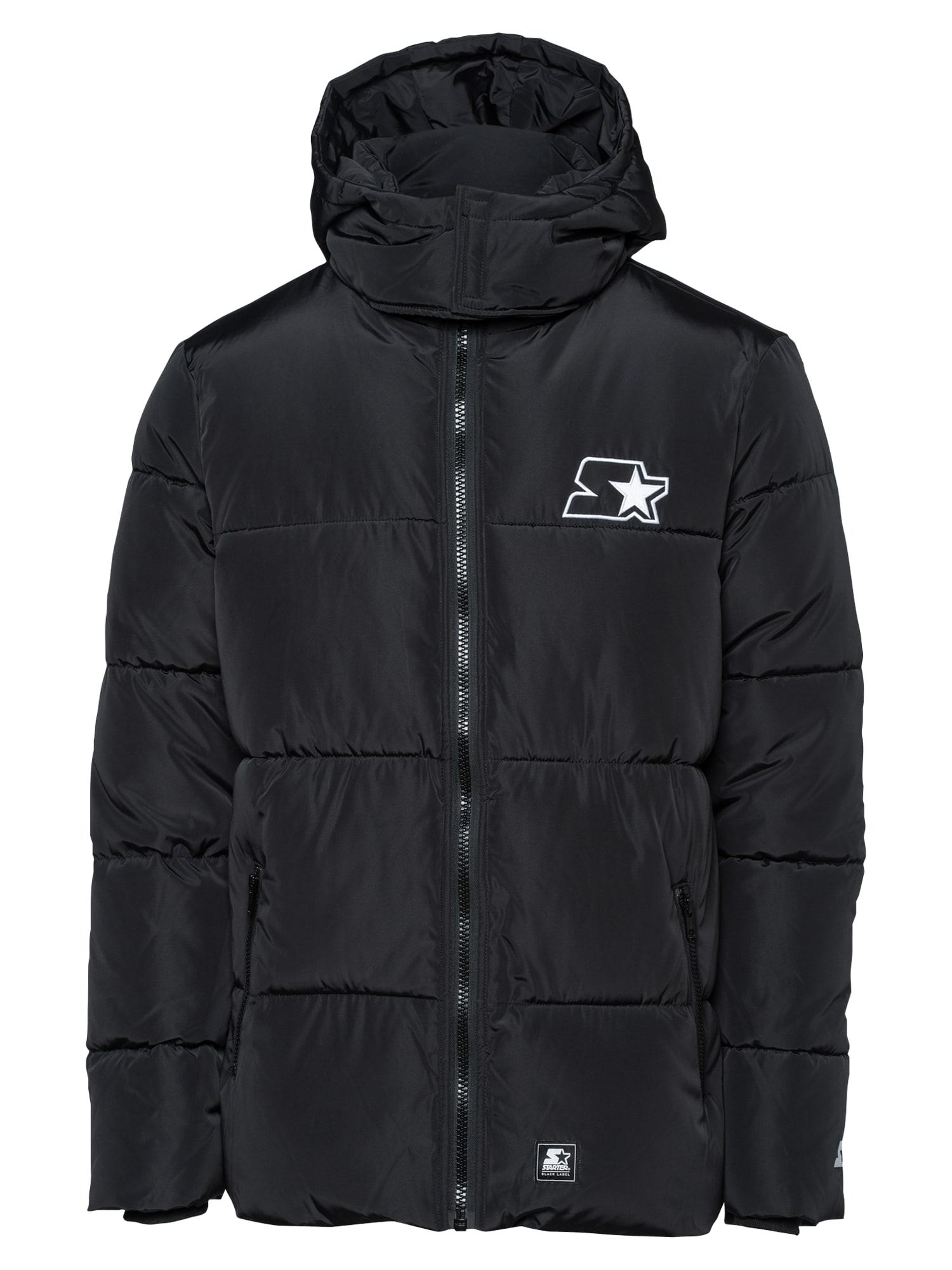 Starter Black Label Žieminė striukė juoda