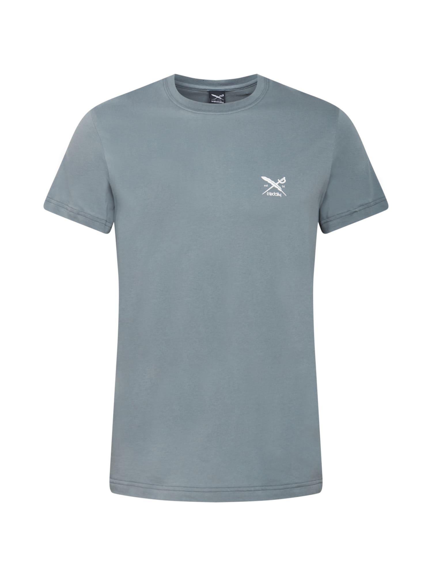 Iriedaily Marškinėliai 'Chestflag' pilka