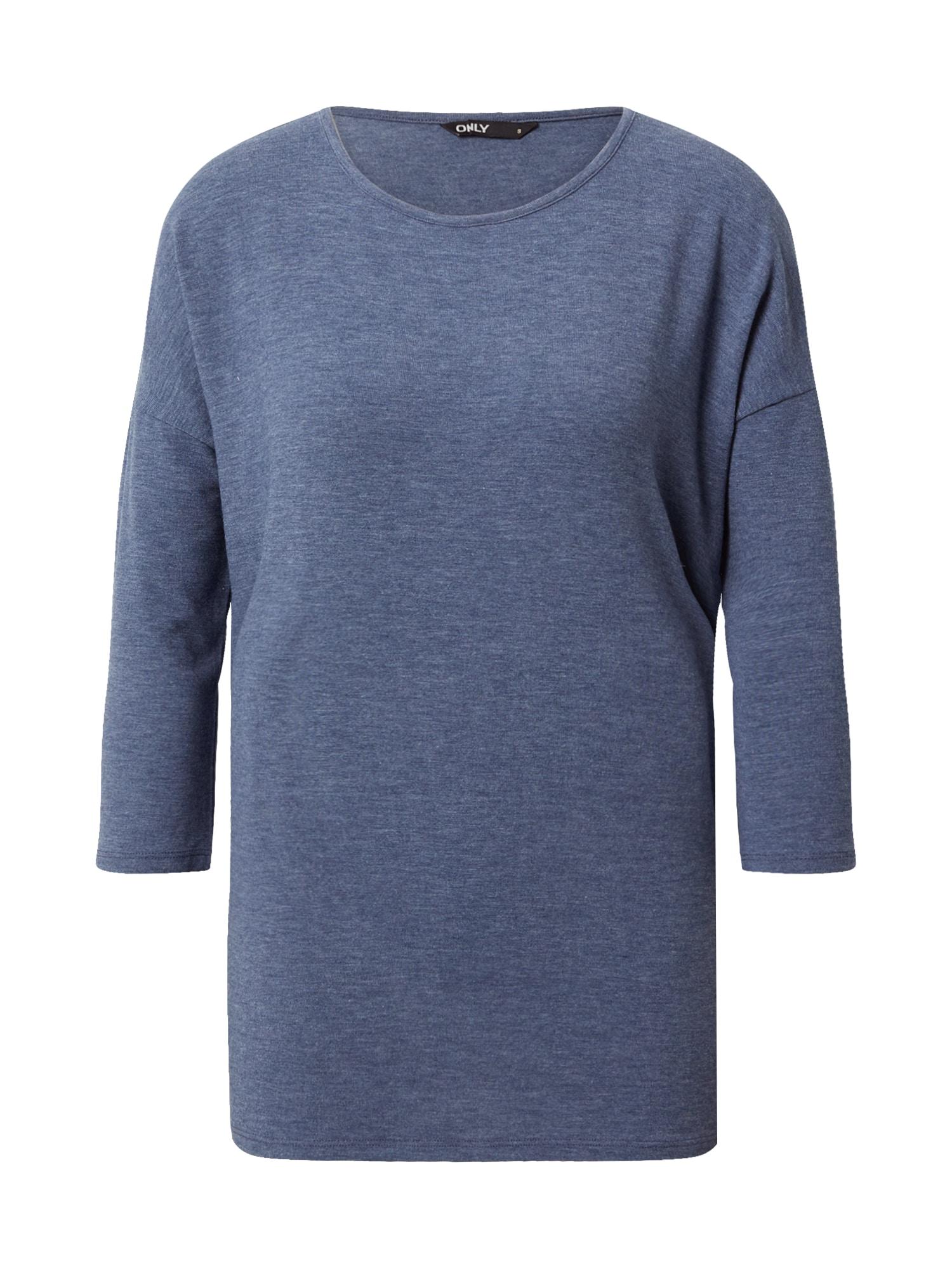 ONLY Tričko 'Glamour'  indigo