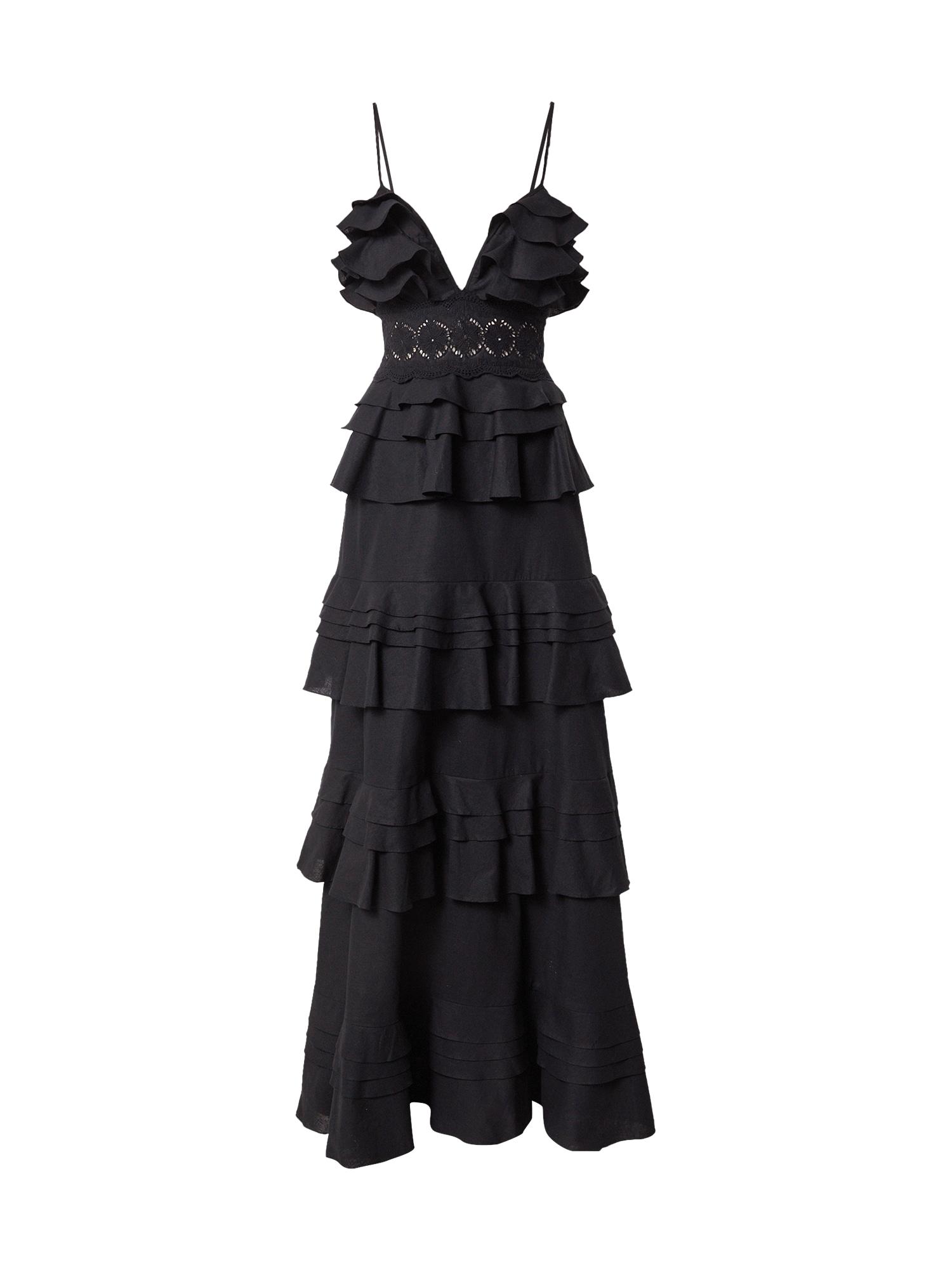 True Decadence Vakarinė suknelė juoda