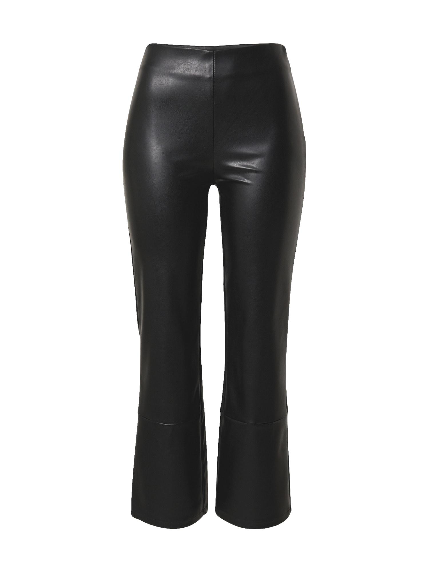 PIECES Kalhoty 'Dove'  černá