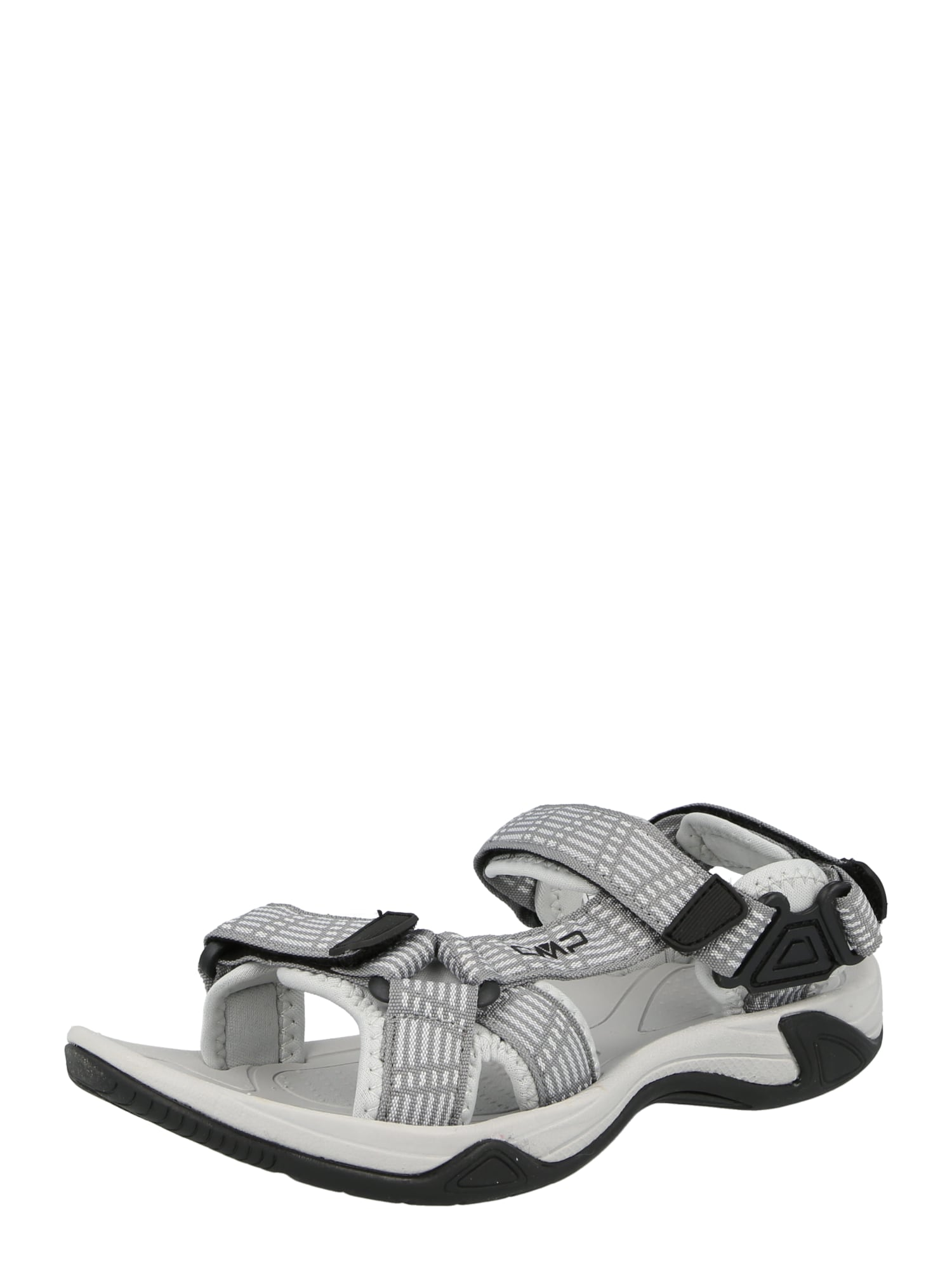 CMP Trekingové sandály 'Hamal'  šedá / bílá / černá