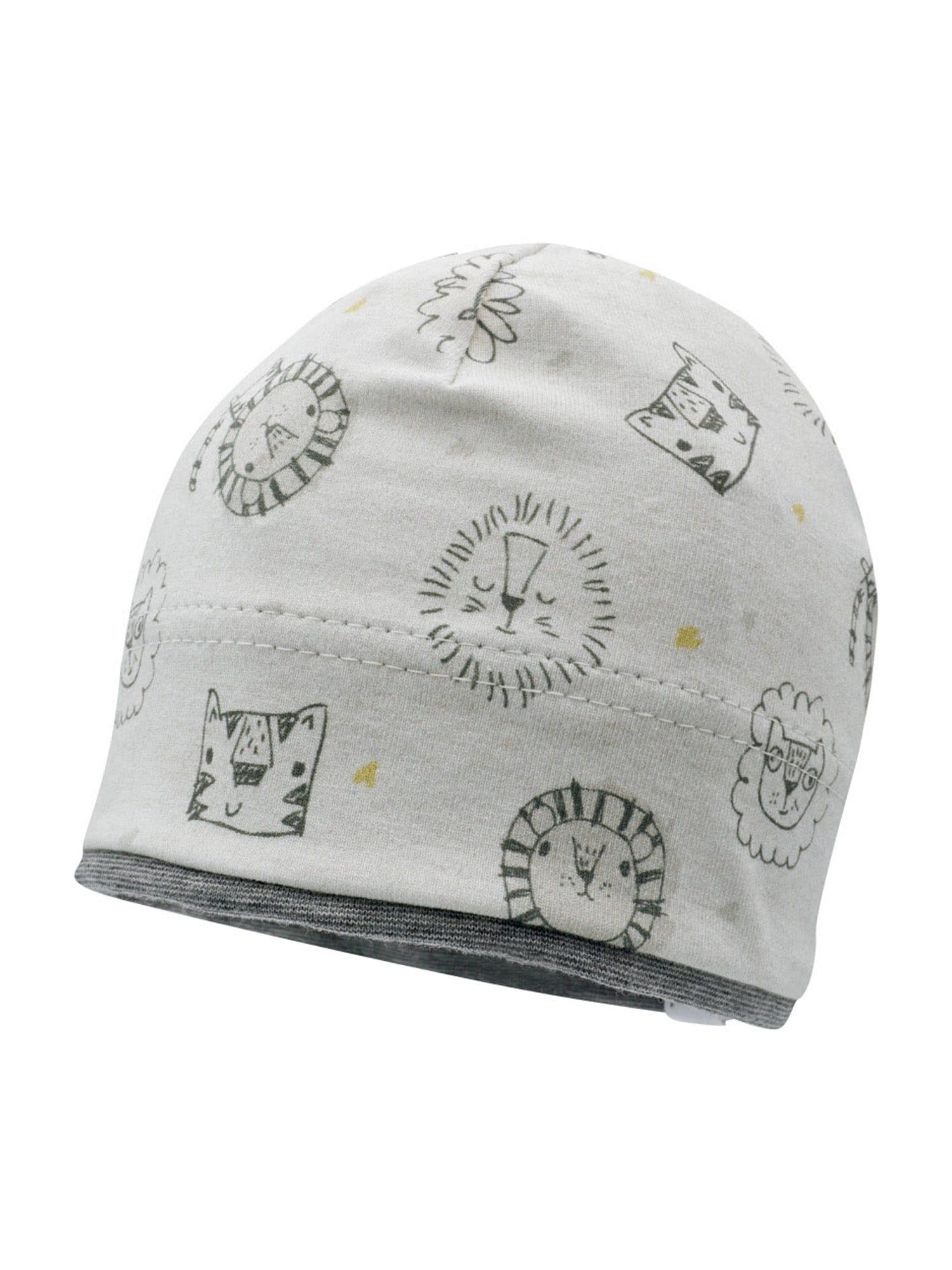 MAXIMO Megzta kepurė šviesiai pilka / tamsiai pilka