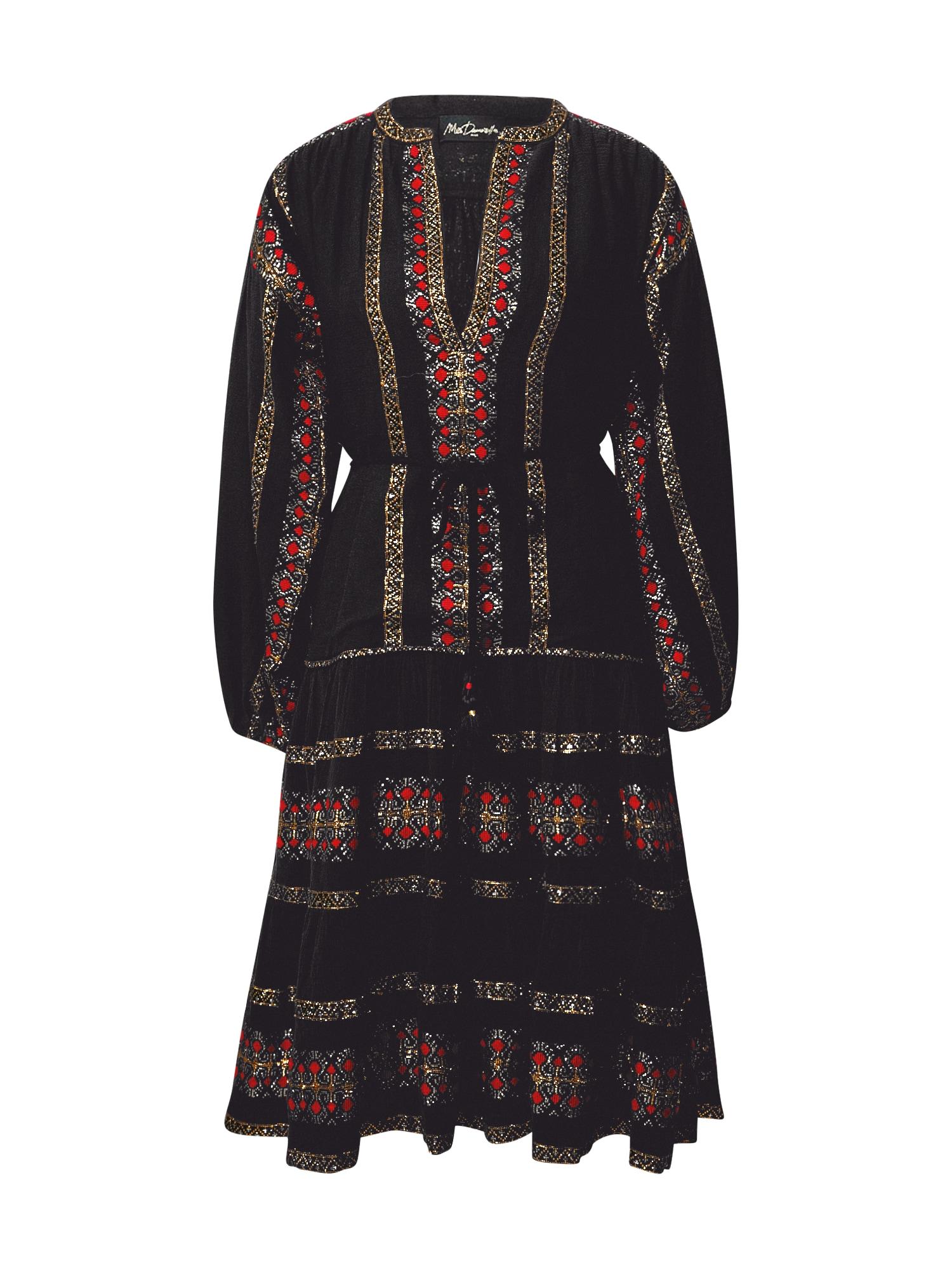 Mes Demoiselles Košilové šaty  černá / mix barev