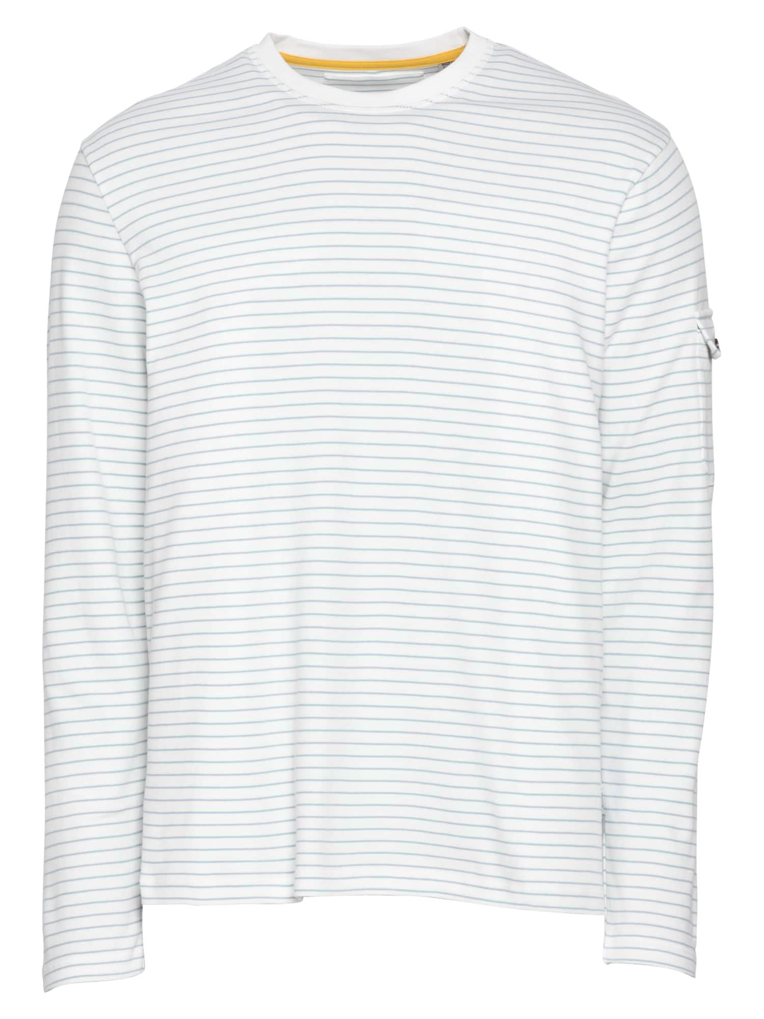 Ted Baker Marškinėliai balta / šviesiai mėlyna