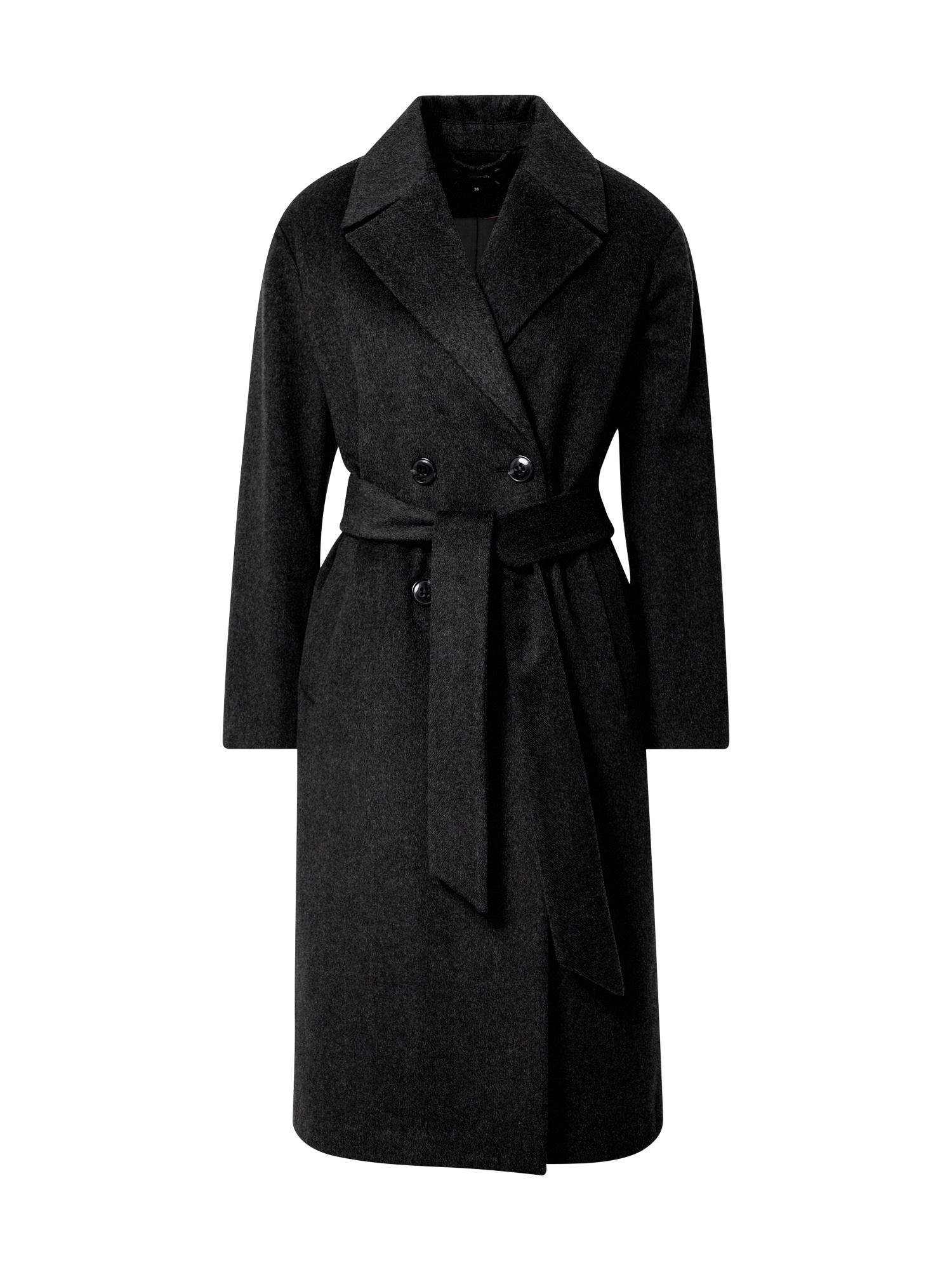 COMMA Demisezoninis paltas juoda