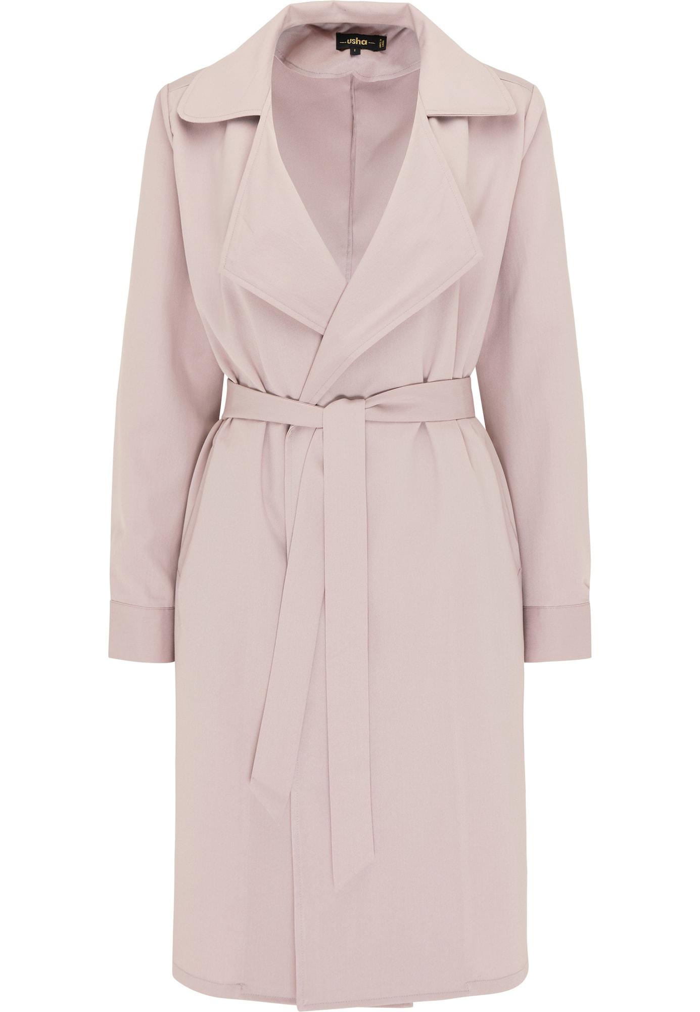 usha BLACK LABEL Demisezoninis paltas pastelinė violetinė