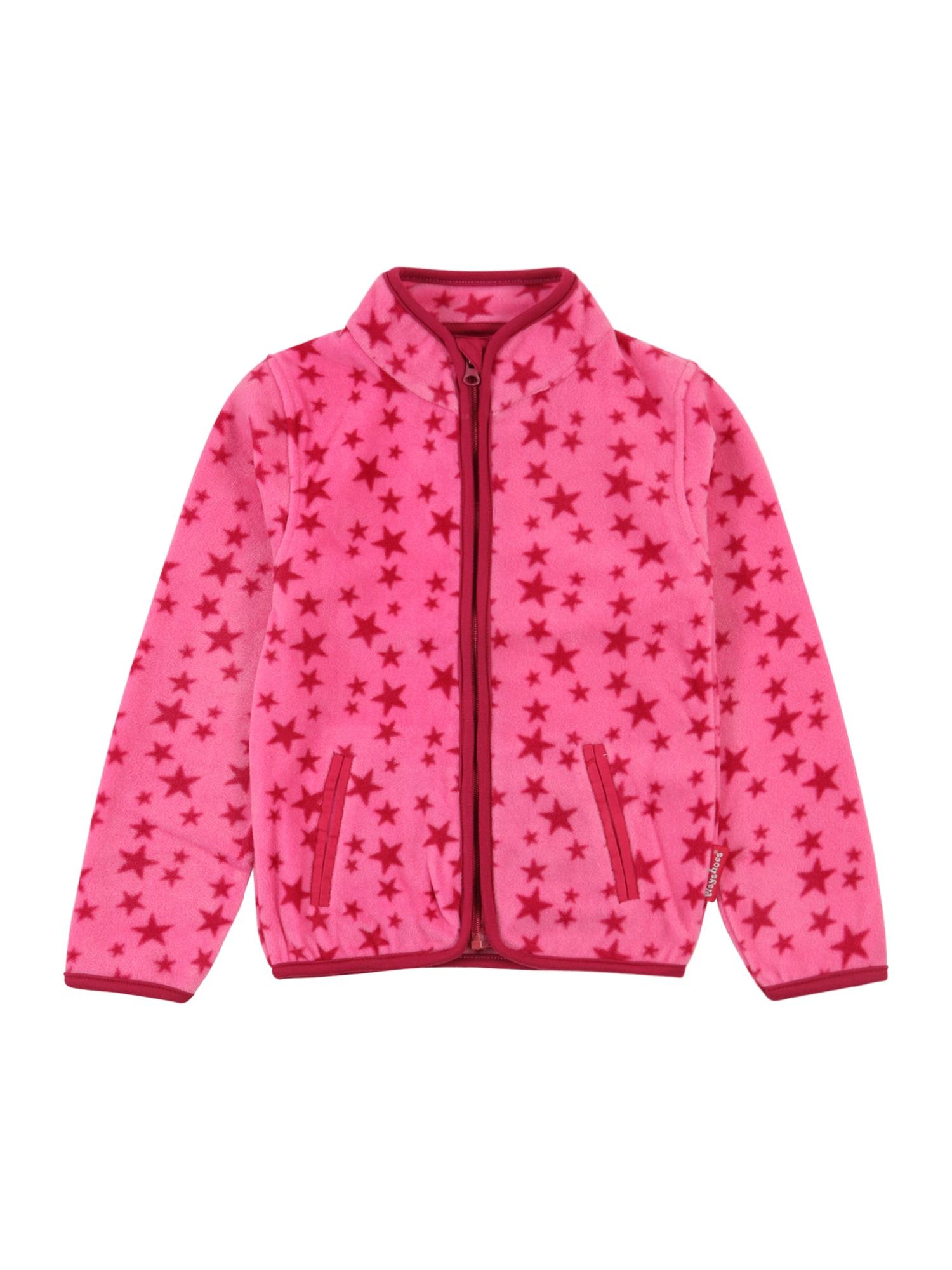 PLAYSHOES Fleecová mikina  pink / tmavě růžová