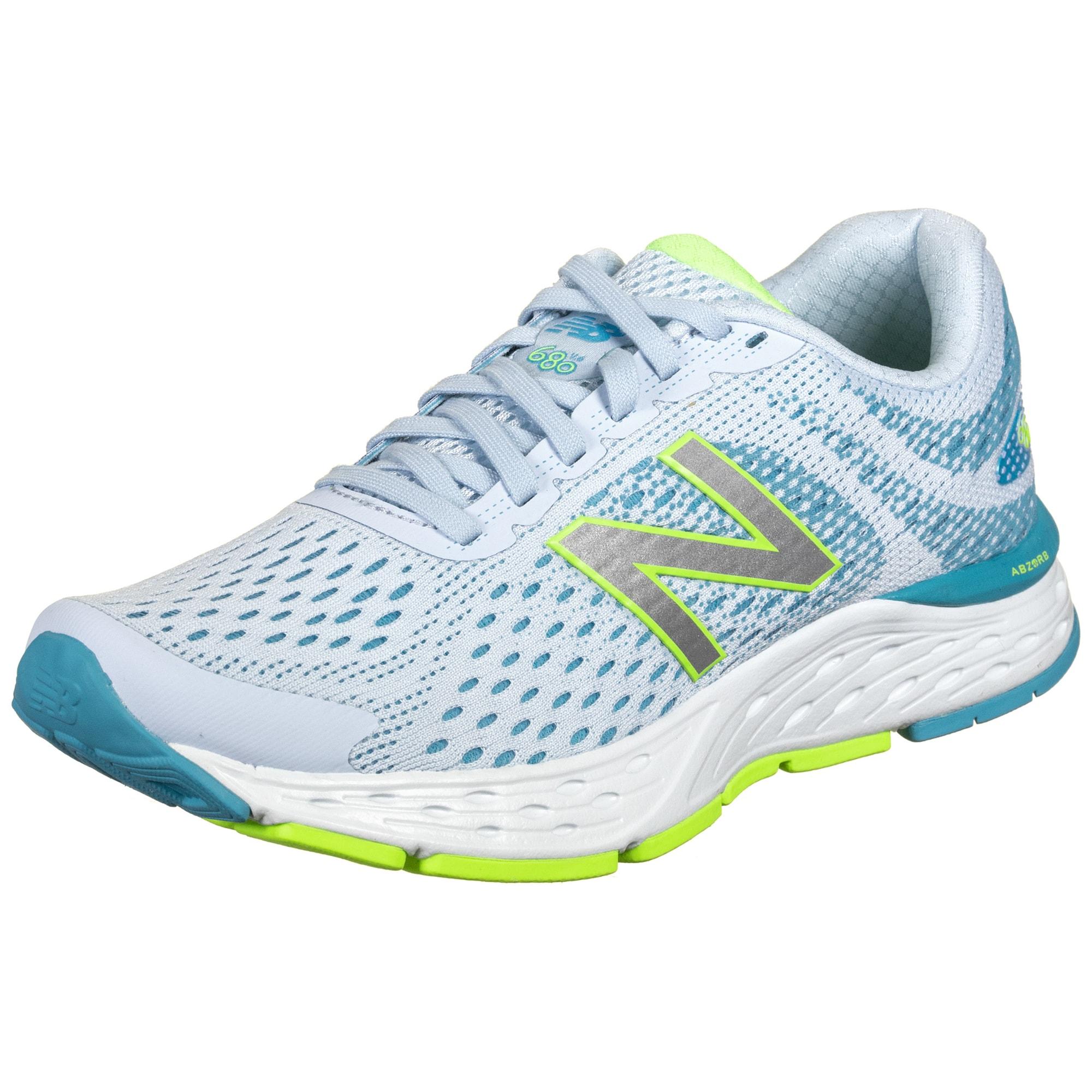 new balance Bėgimo batai balta / mėlyna / neoninė žalia
