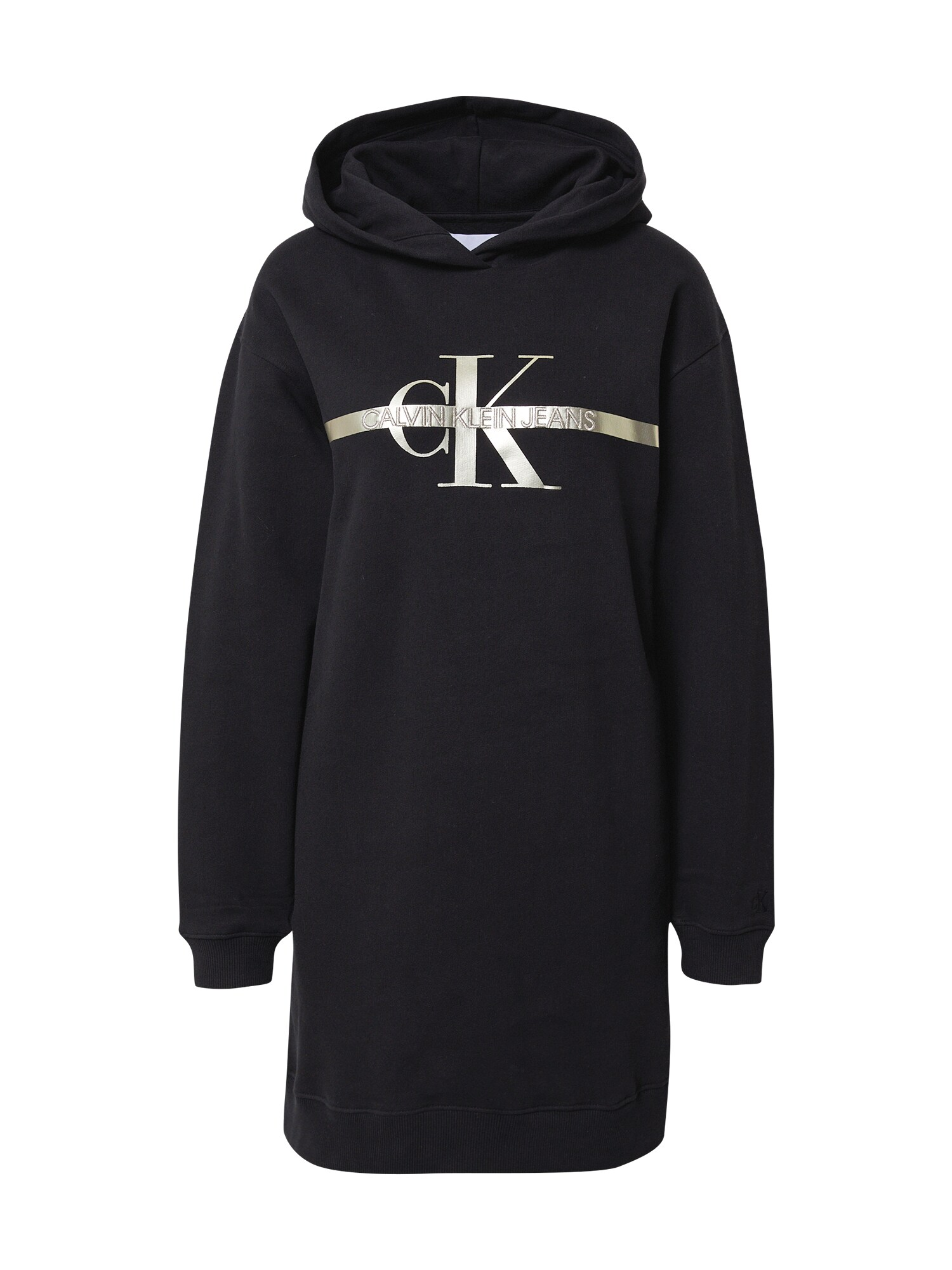 Calvin Klein Jeans Suknelė juoda / auksas