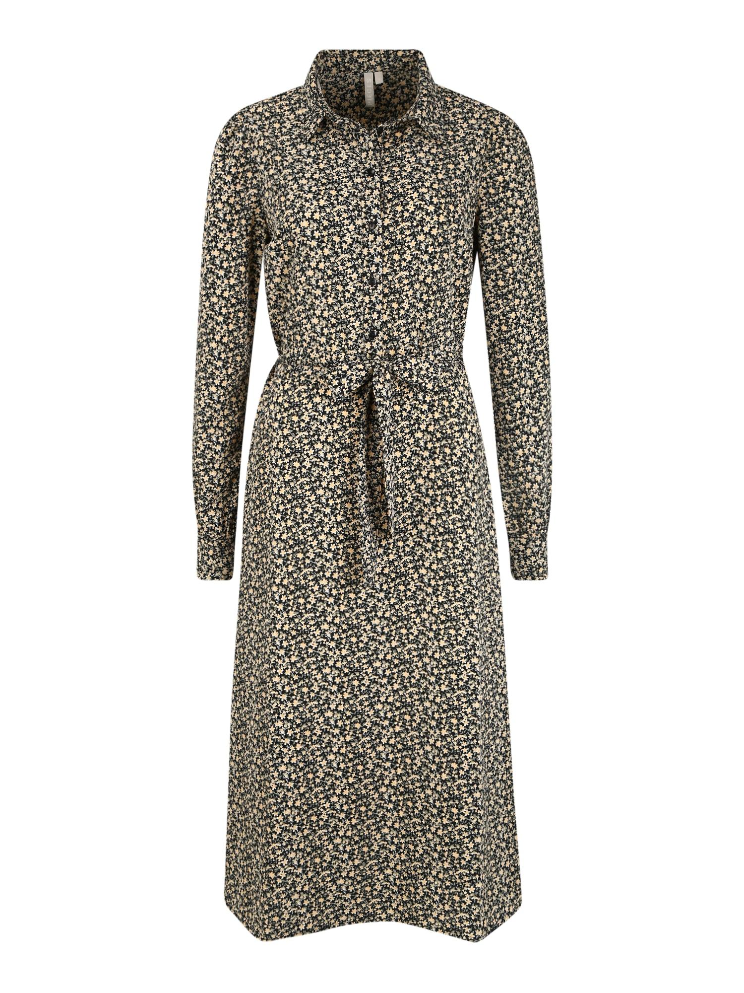 Pieces (Tall) Palaidinės tipo suknelė mišrios spalvos / juoda