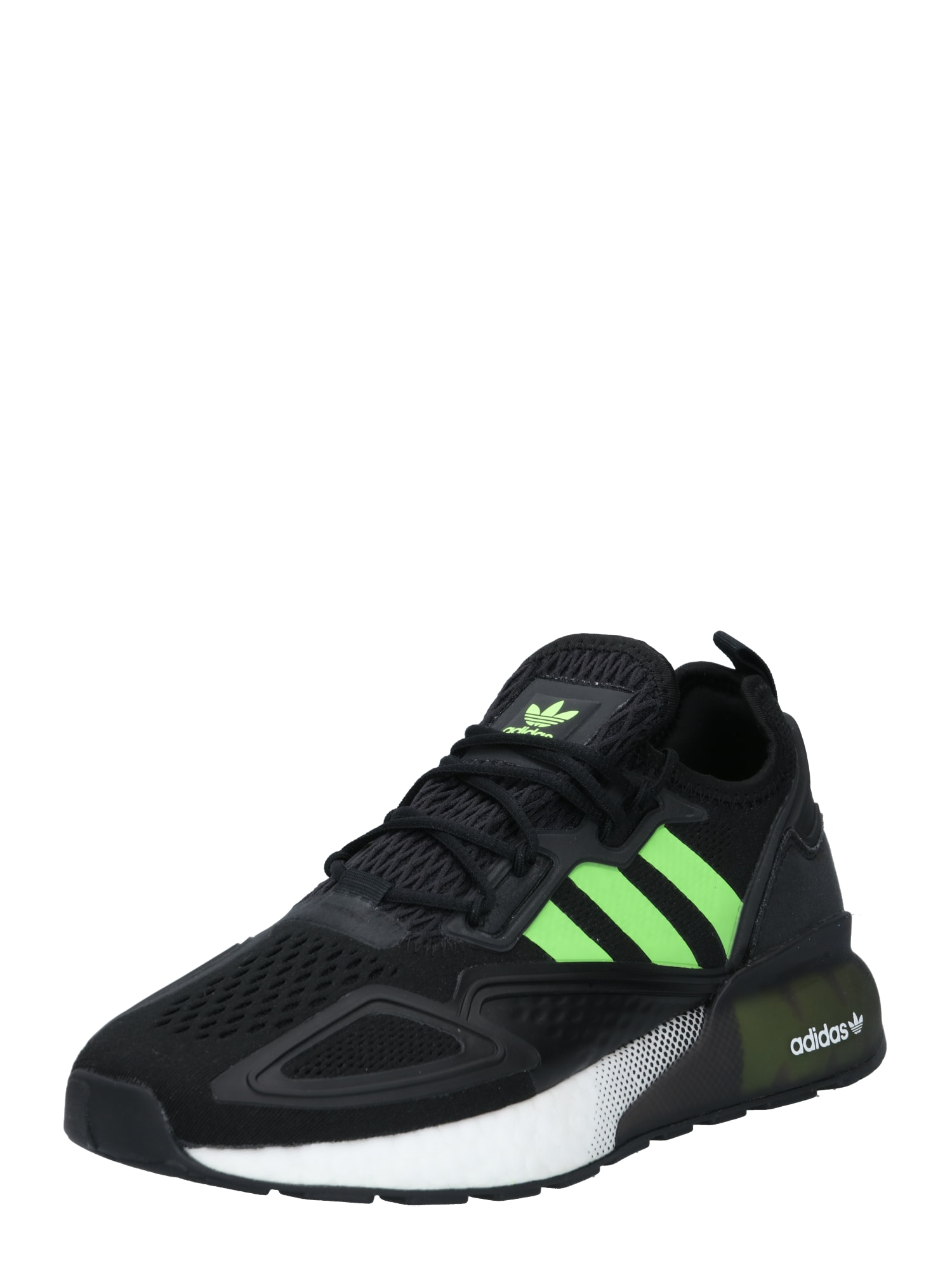 ADIDAS ORIGINALS Sportbačiai be auliuko juoda / neoninė žalia