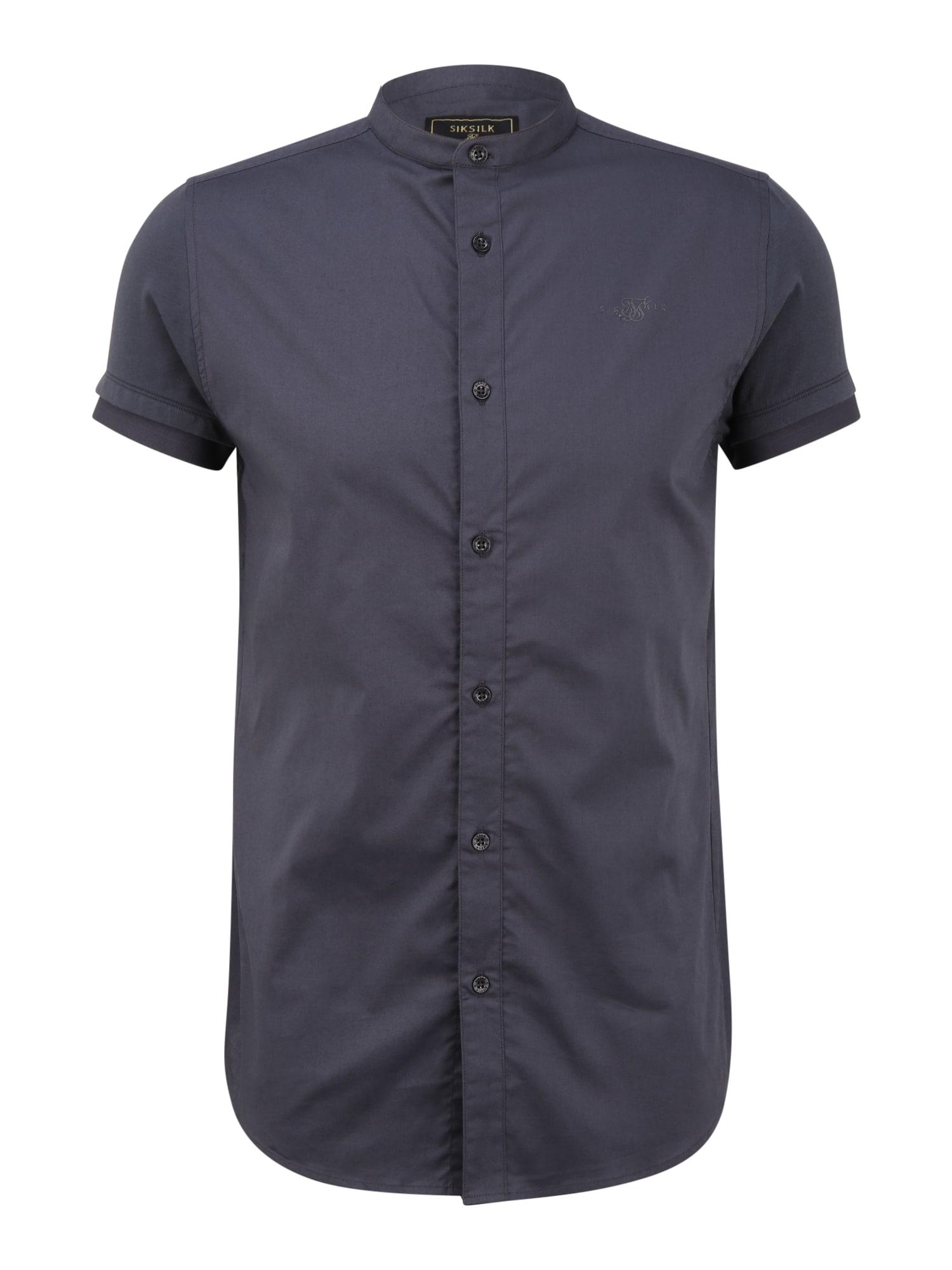 SikSilk Marškiniai tamsiai mėlyna