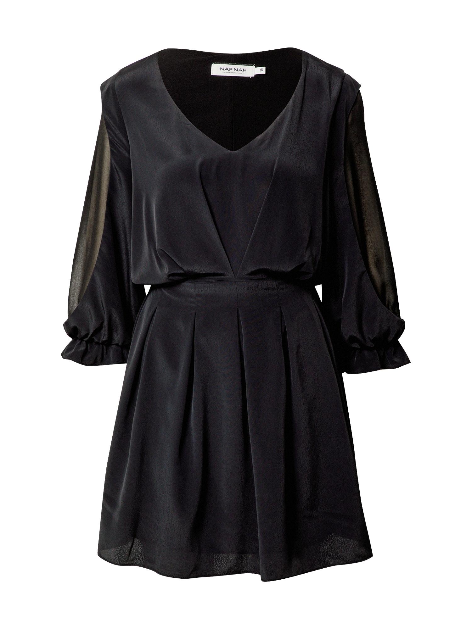 NAF NAF Kokteilinė suknelė juoda