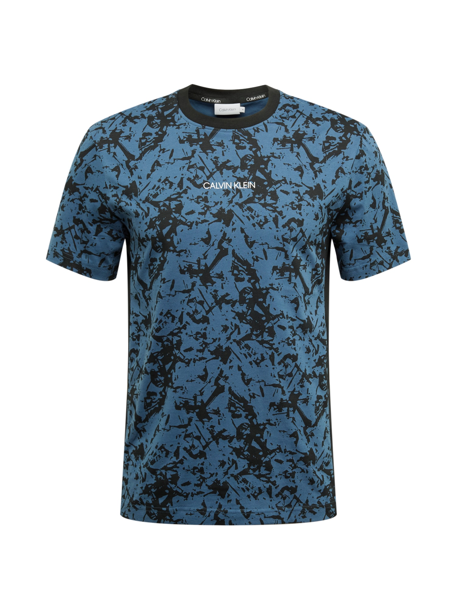 Calvin Klein Tričko  modrá / černá