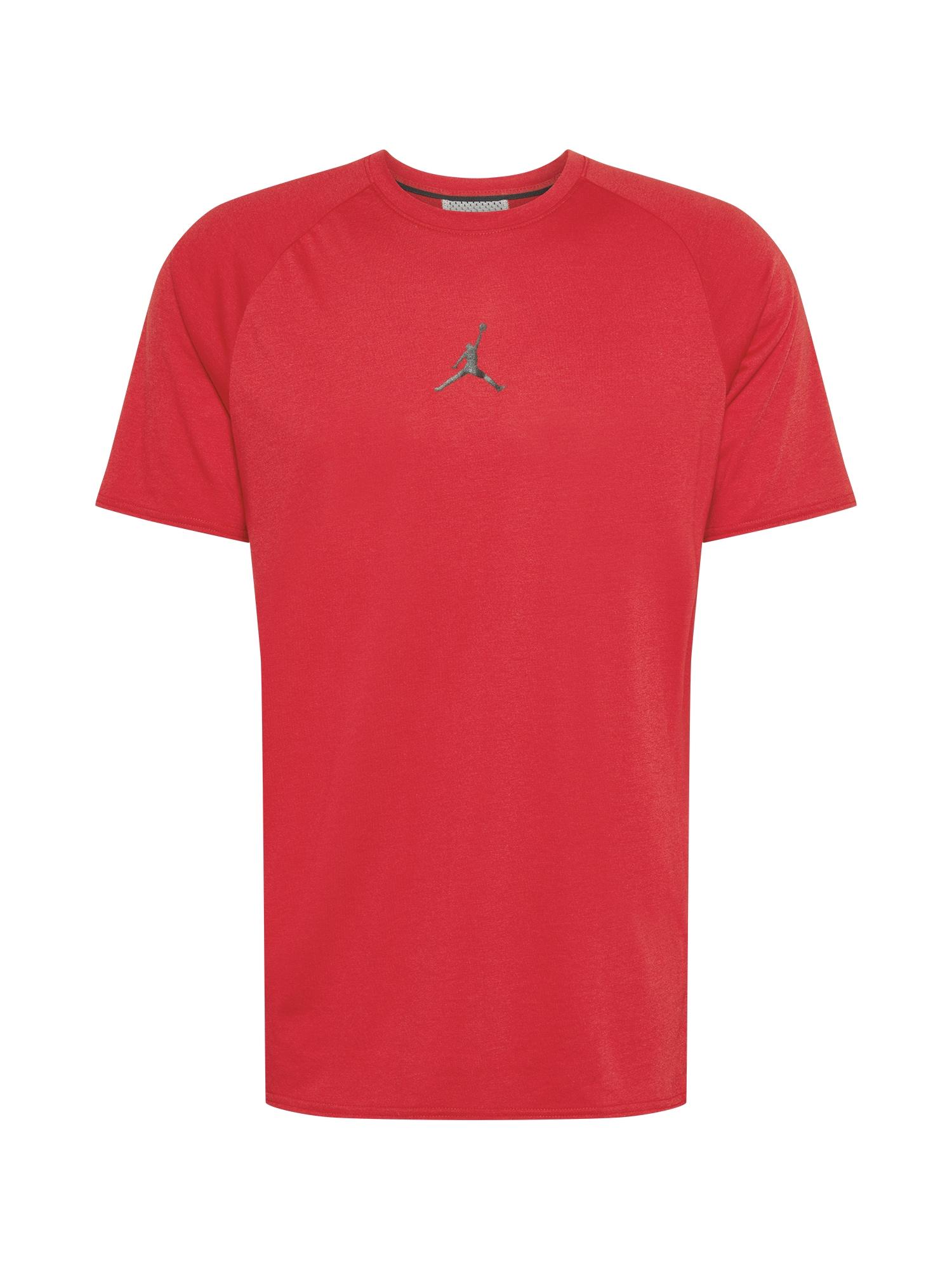Jordan Marškinėliai raudona / juoda