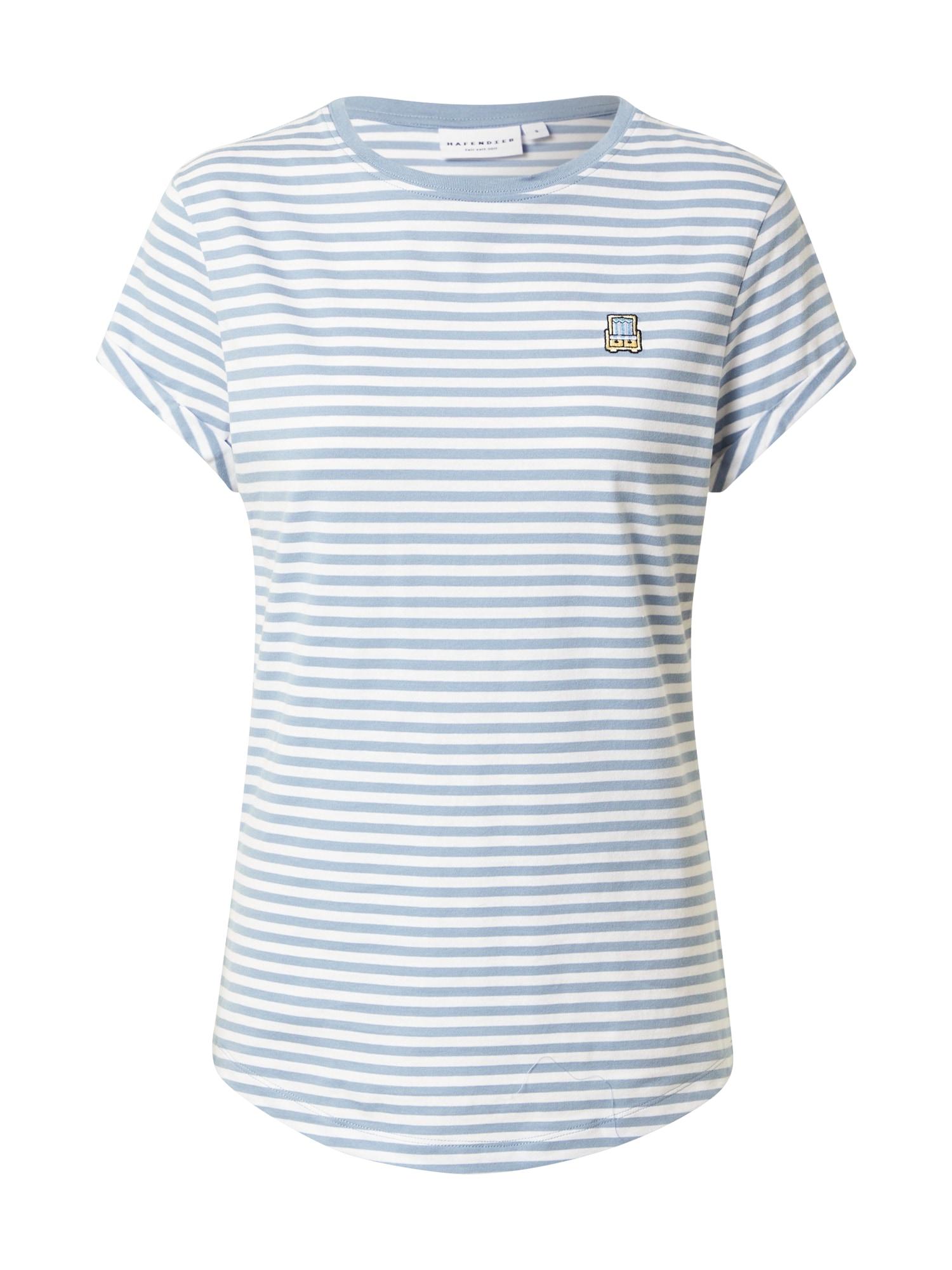 Hafendieb Marškinėliai šviesiai mėlyna / balta