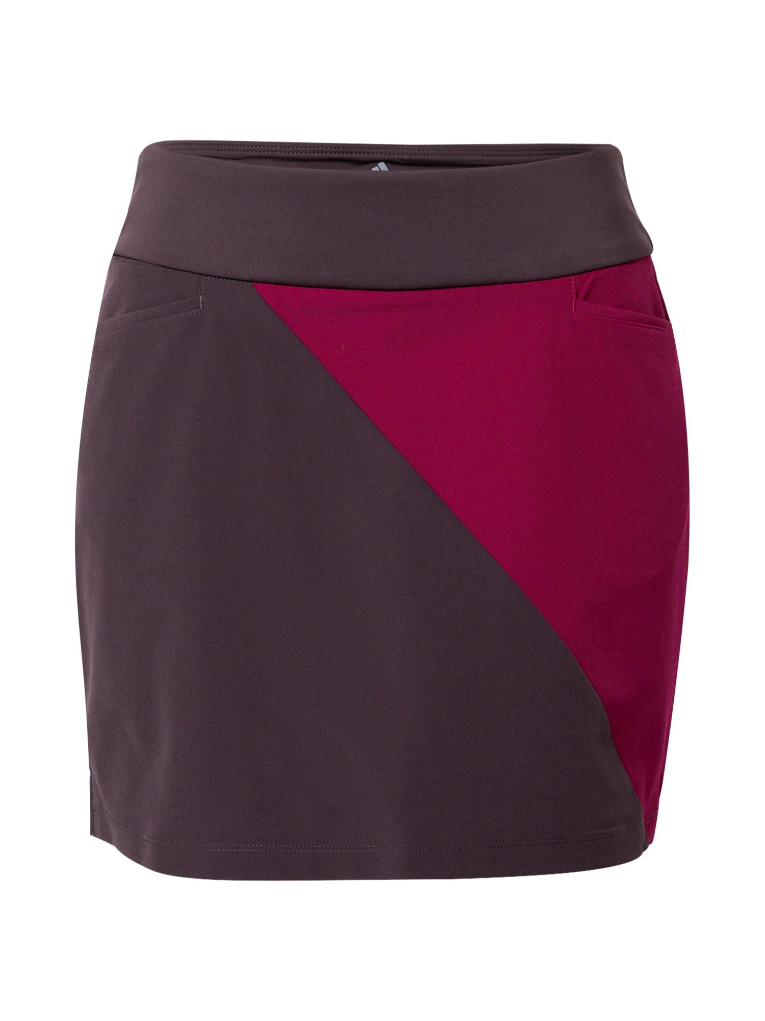 adidas Golf Sportinio stiliaus sijonas uogų spalva / baklažano spalva