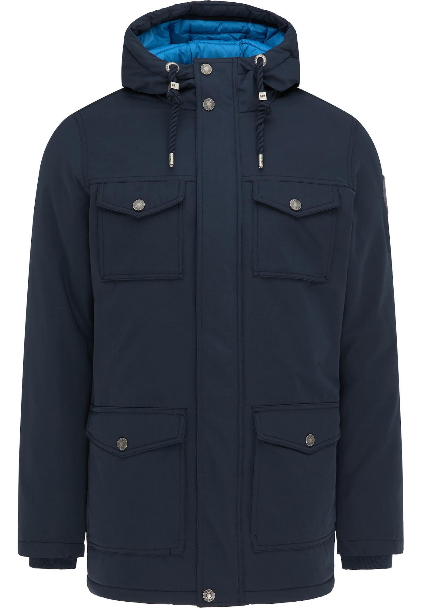 MO Žieminė striukė tamsiai mėlyna / šviesiai mėlyna