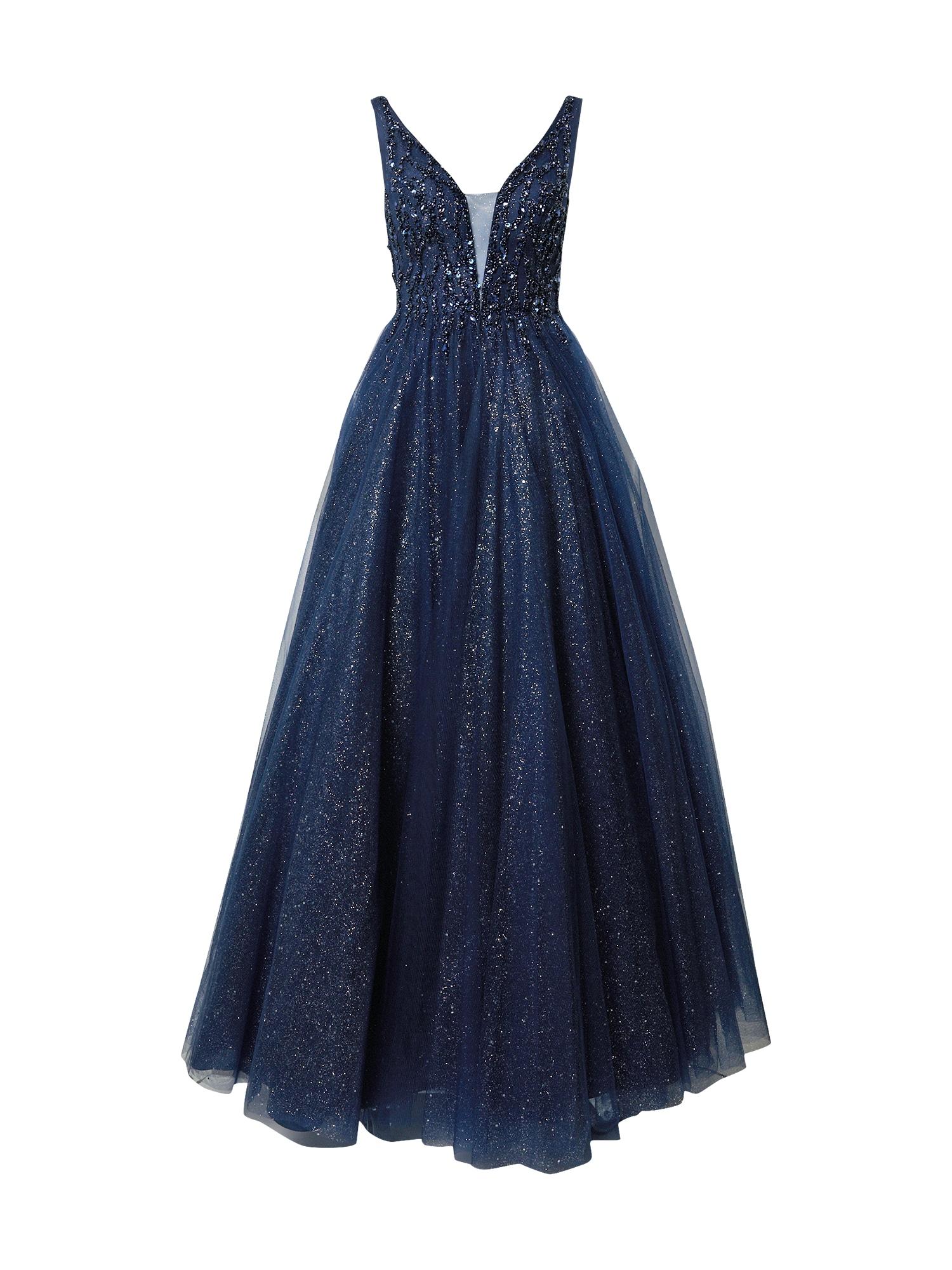 LUXUAR Vakarinė suknelė tamsiai mėlyna