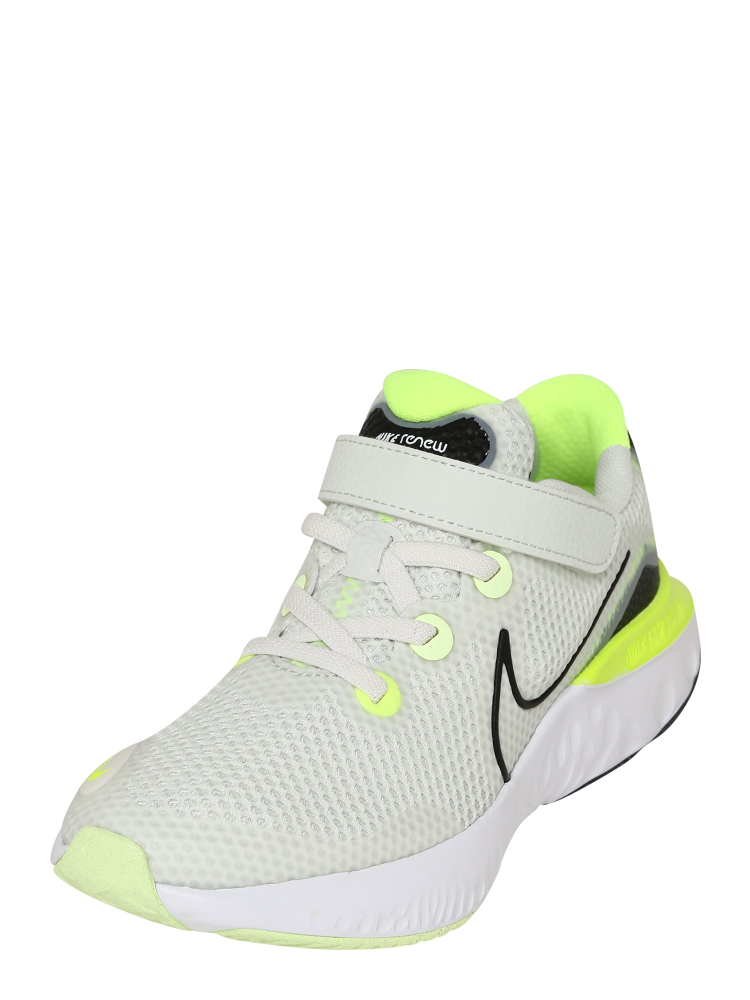 NIKE Sportiniai batai juoda / balta