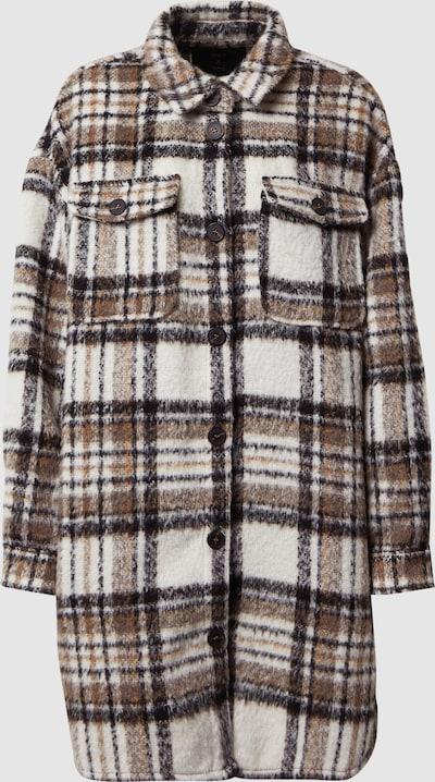 Płaszcz przejściowy 'ONLSTORMY L/S LONG CHECK SHACKET PNT'