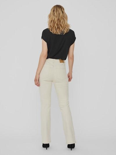 Vero Moda Saga Stretch-Jeans mit Schlag und hohem Bund