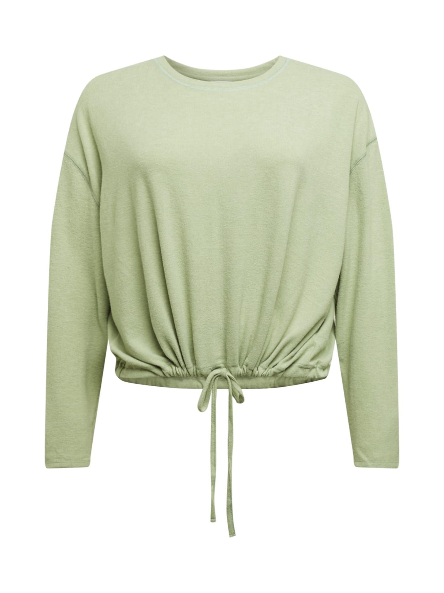 Cotton On Curve Megztinis be užsegimo šviesiai žalia
