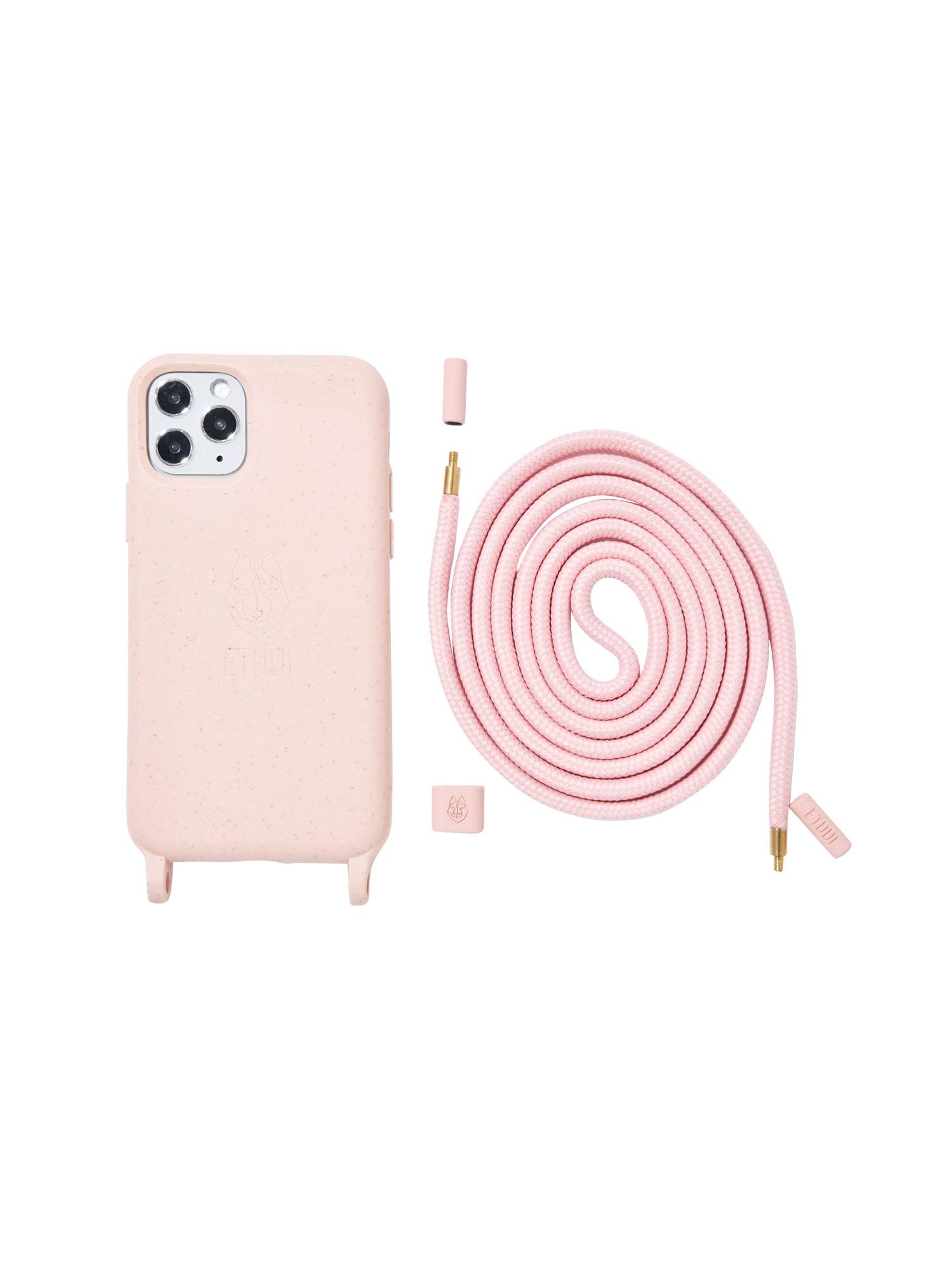 ETUUI Išmaniojo telefono dėklas šviesiai rožinė