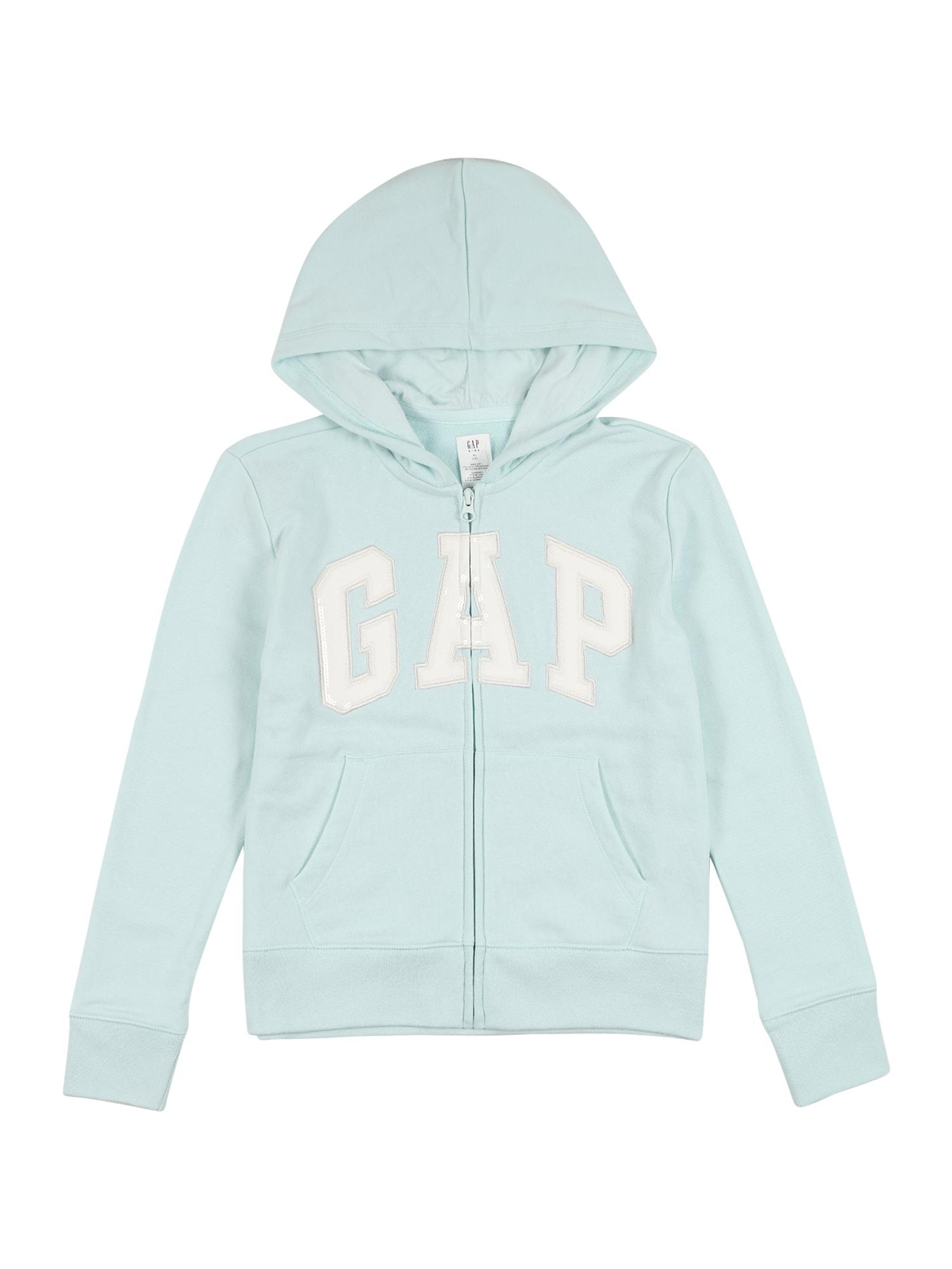 GAP Džemperis šviesiai mėlyna / balta