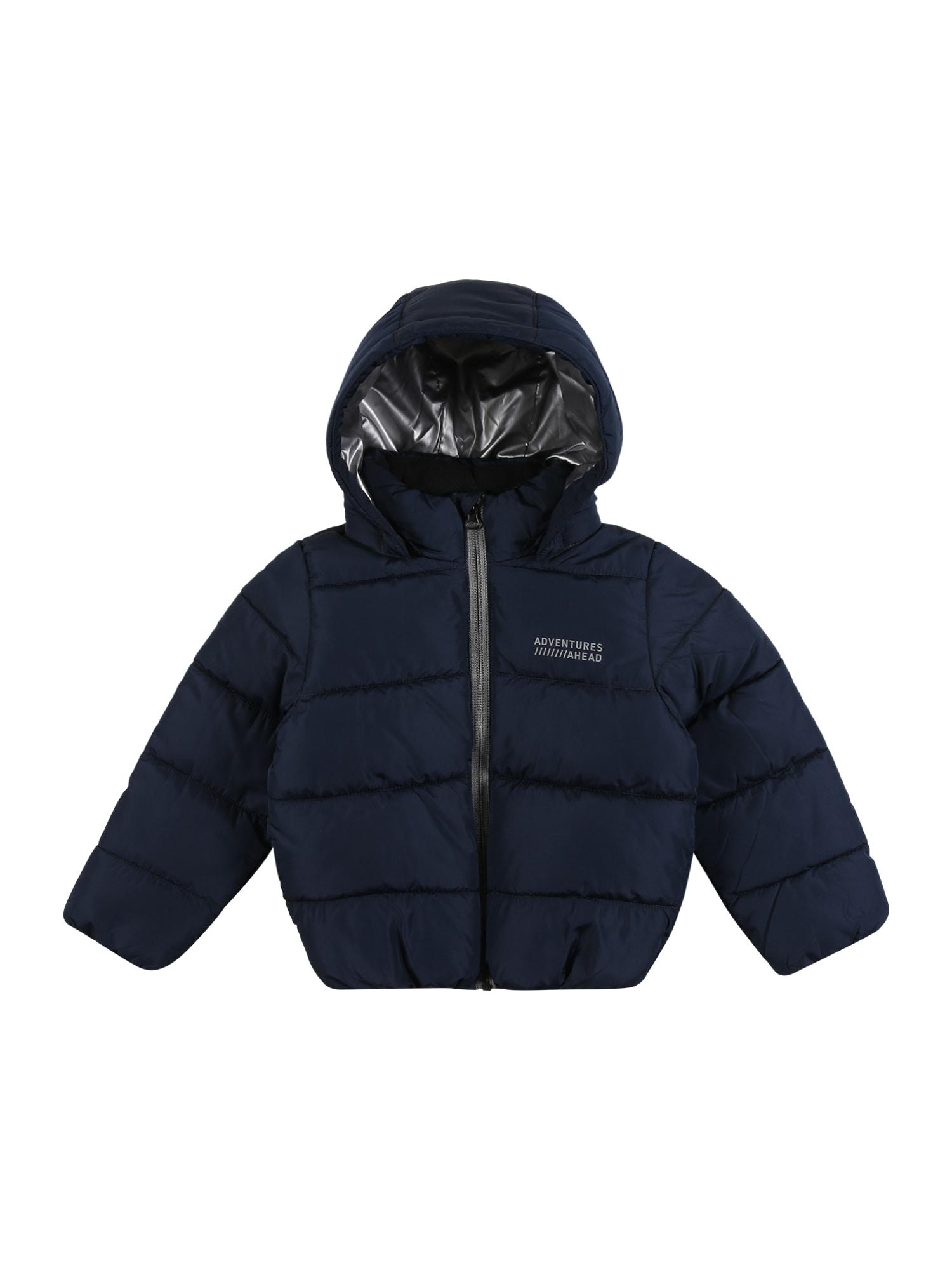 NAME IT Zimní bunda 'Milton'  tmavě modrá