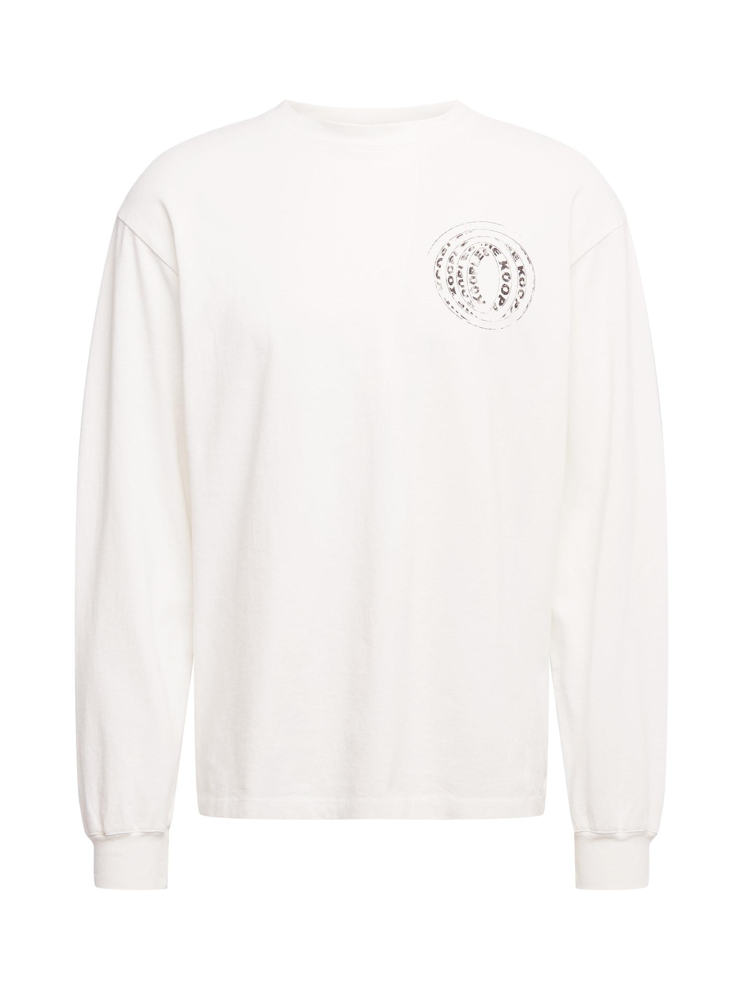 The Kooples Marškinėliai balkšva / bazalto pilka