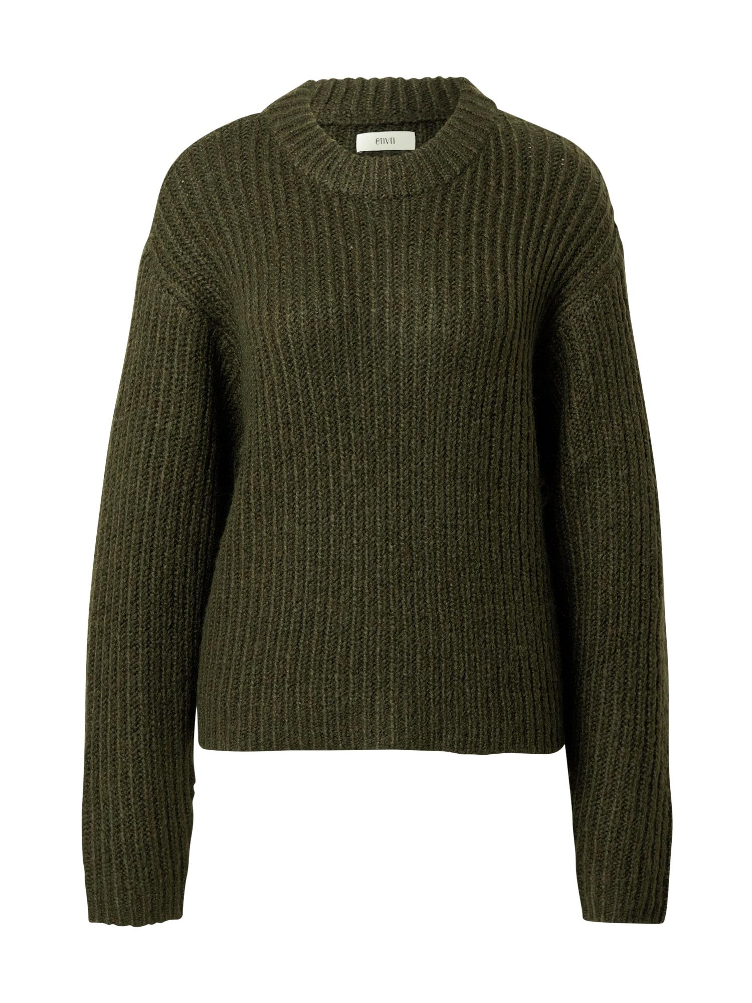 Envii Megztinis tamsiai žalia