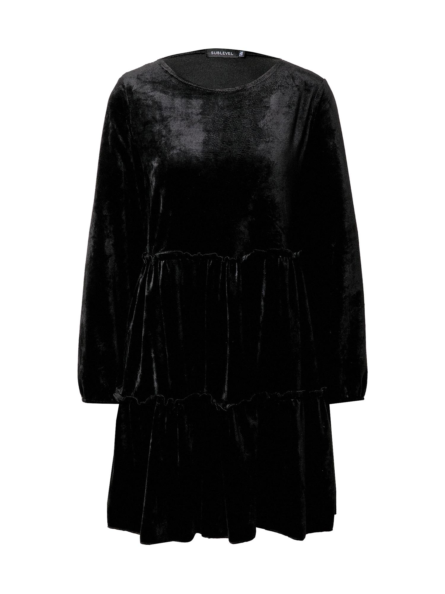 Sublevel Suknelė juoda
