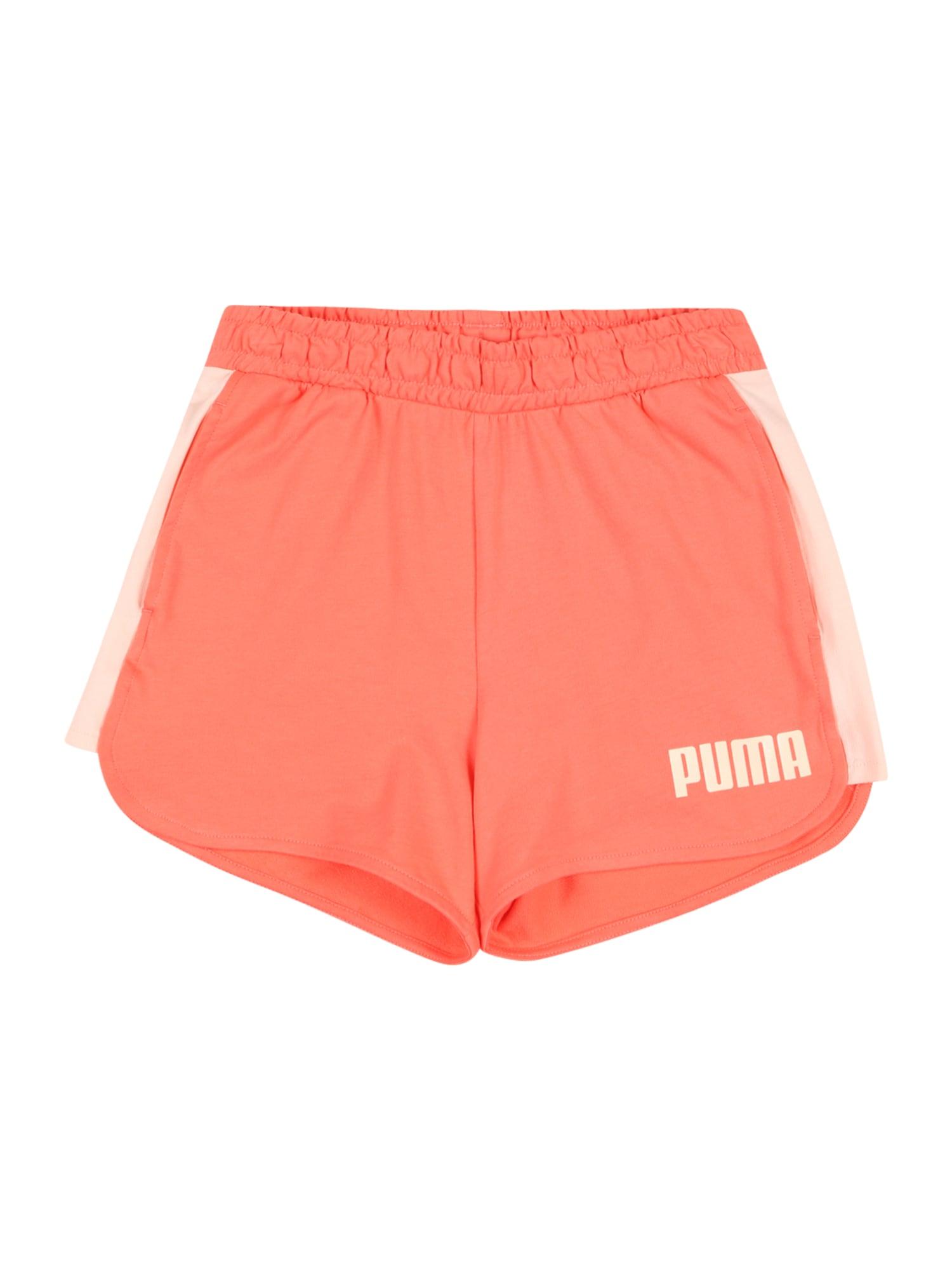 PUMA Kalhoty 'Alpha'  broskvová / korálová