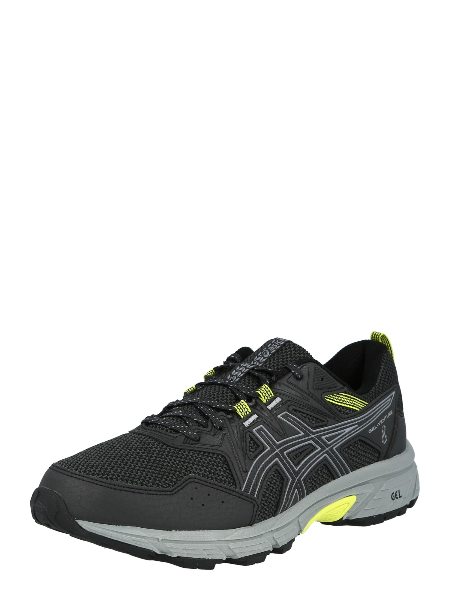 ASICS Bėgimo batai pilka / geltona / antracito