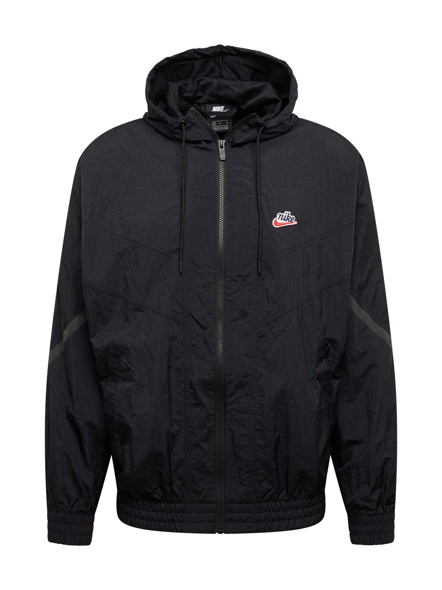 Nike Sportswear Přechodná bunda 'Windrunner'  černá / kouřově šedá