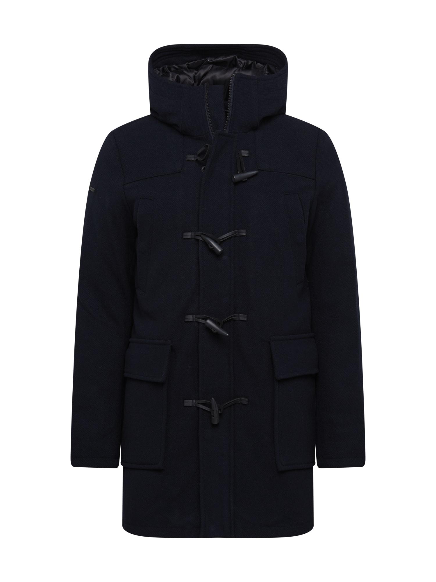 Superdry Demisezoninis paltas nakties mėlyna