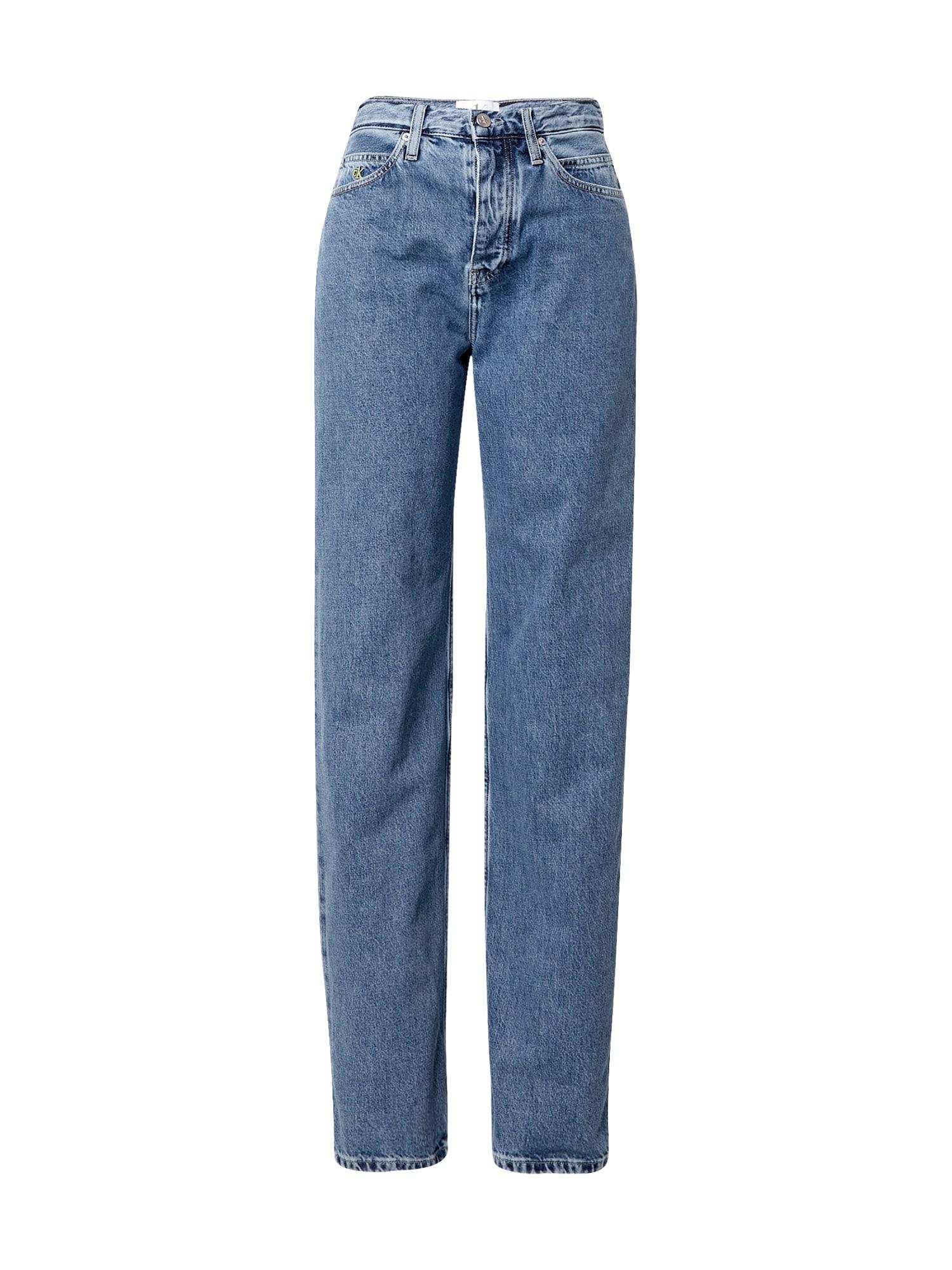 Calvin Klein Jeans Džíny  modrá