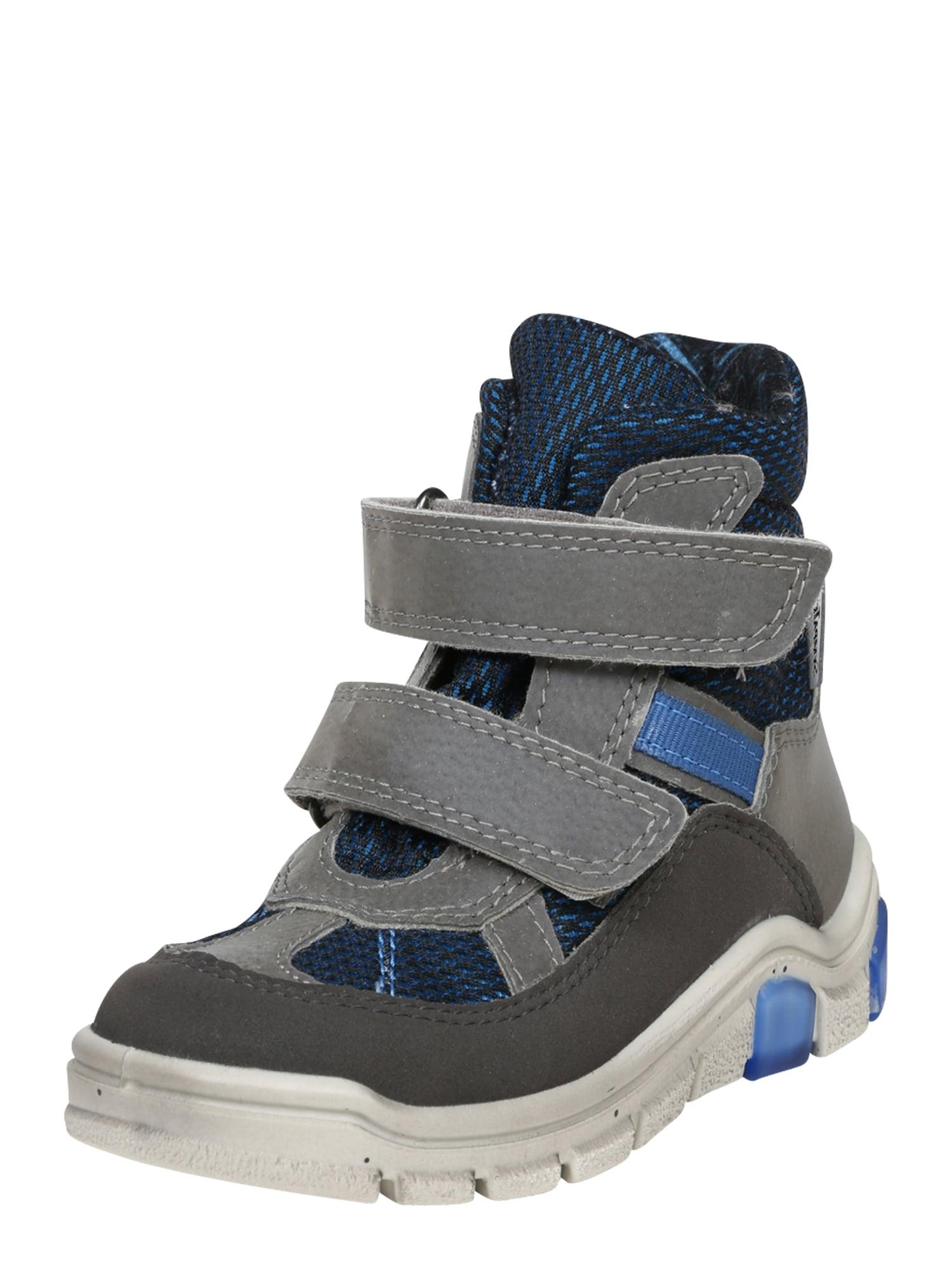 RICOSTA Sniego batai tamsiai (džinso) mėlyna / pilka / dangaus žydra